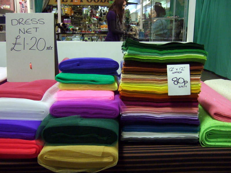 File:Colourful fabrics in Hereford market - geograph.org.uk - 1757836.jpg