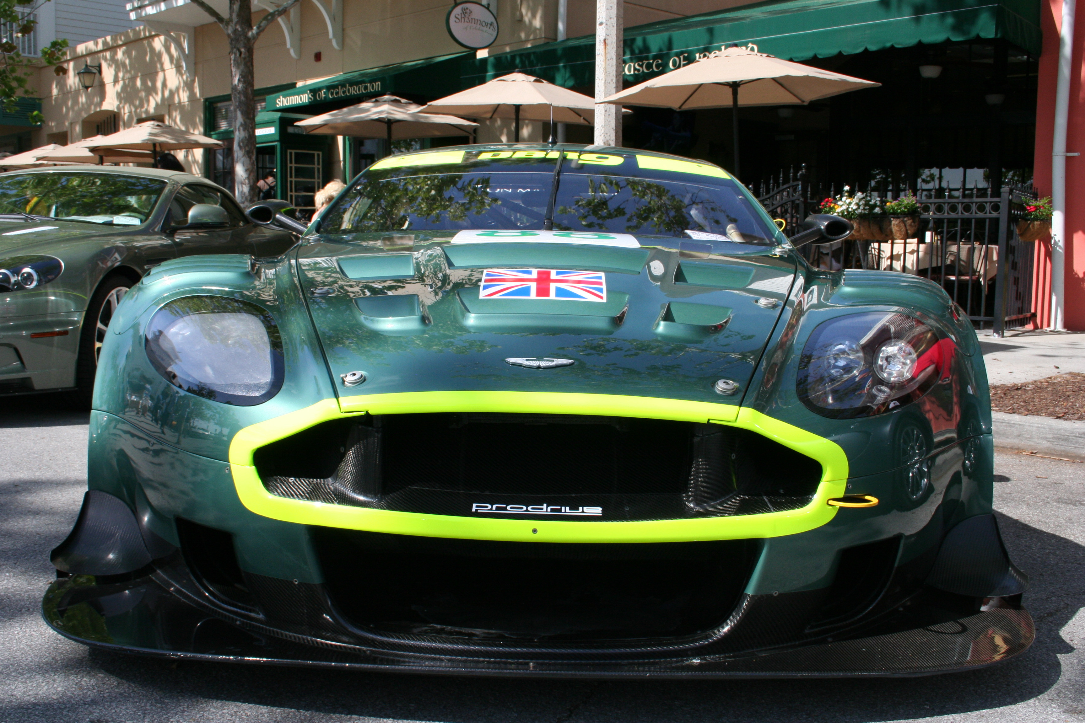 English: Aston Martin DBR9 front