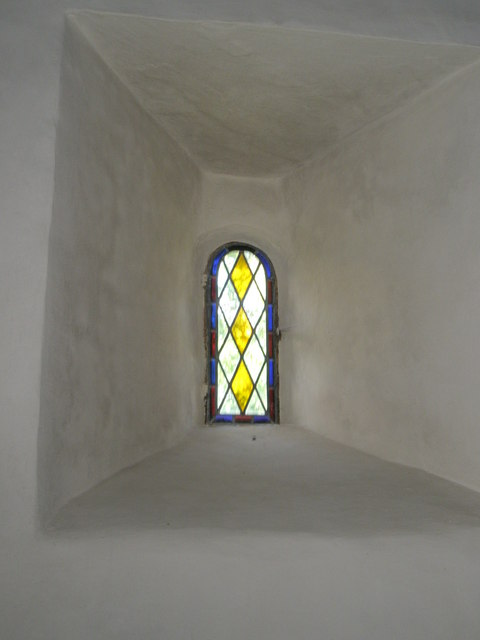 FileDelightfully Simple Stained Glass Window Within Clee St Margaret Parish Church