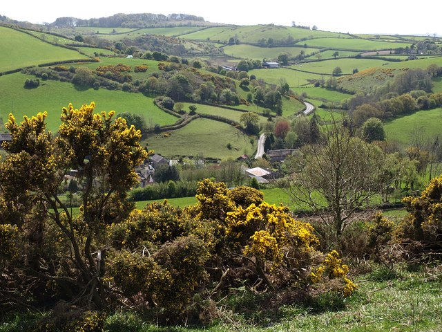 Doccombe from Mardon Down - geograph.org.uk - 1292660