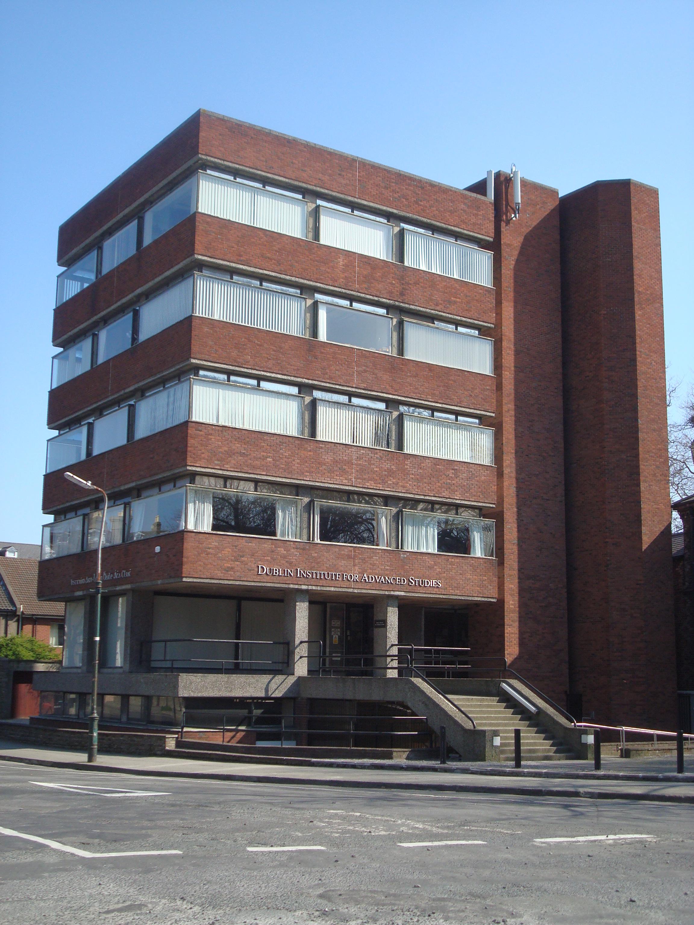 File:Dublin Institute for Advanced Studies, School of