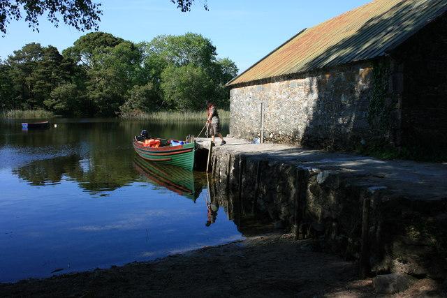Dundag Bay Boathouse - geograph.org.uk - 1478895
