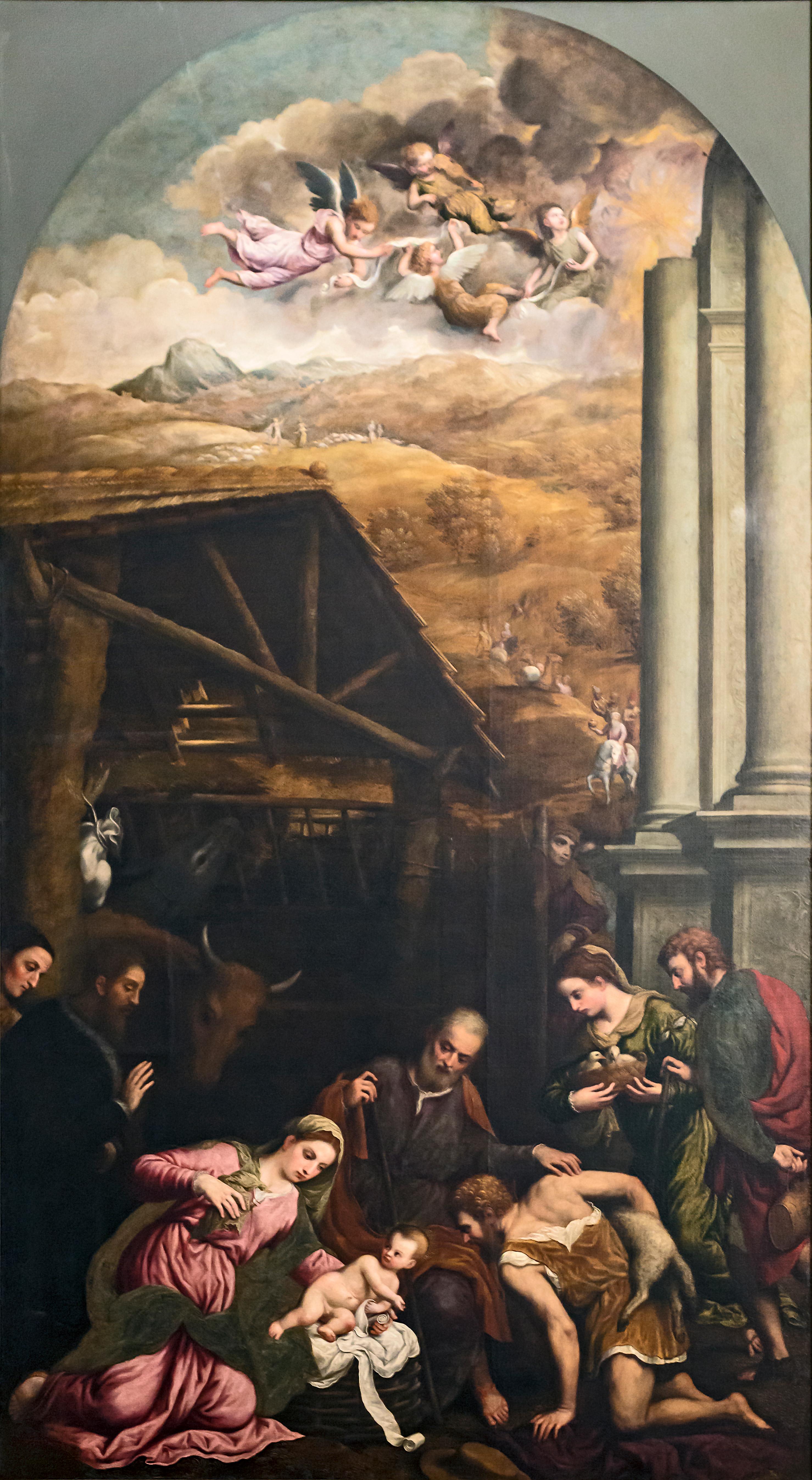 Adorazione dei pastori Paris Bordone