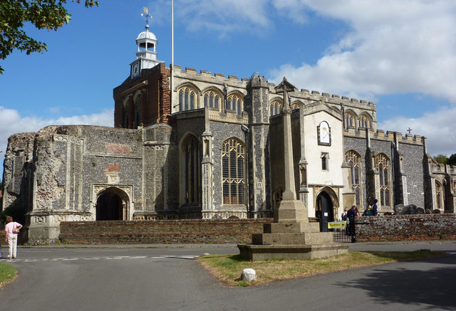 East Bergholt church - geograph.org.uk - 1481527
