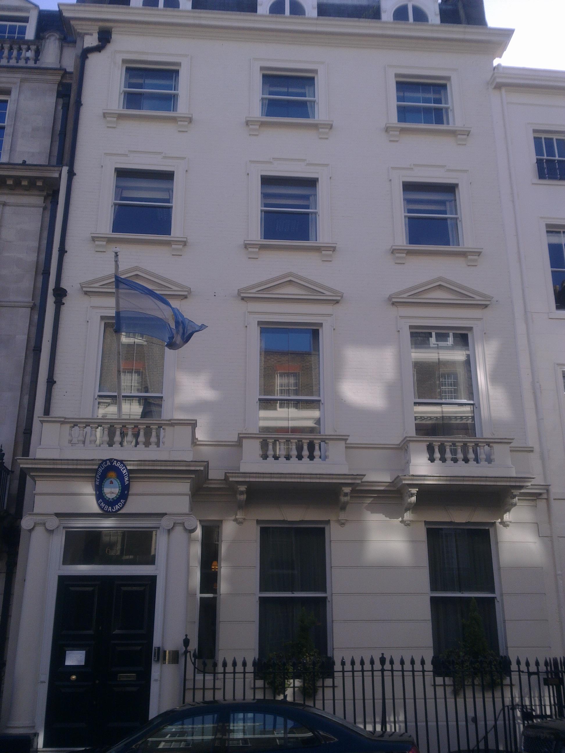 Embassy of Argentina, London - Wikipedia
