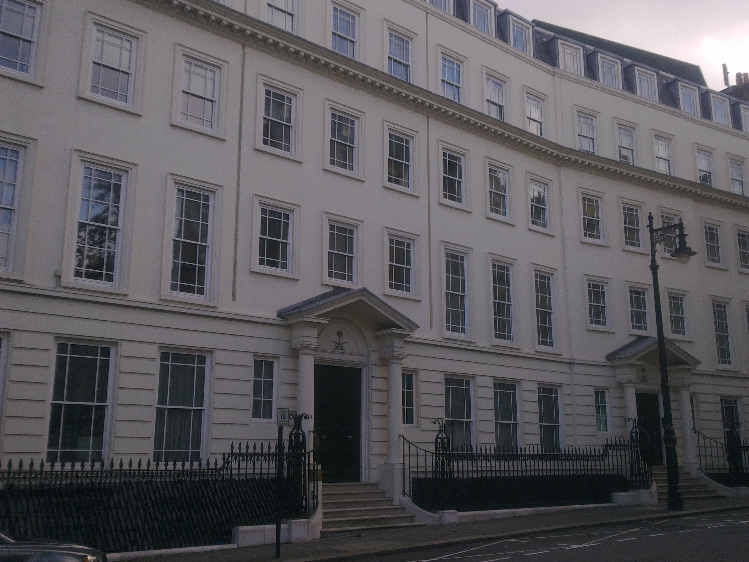 Fileembassy Of Saudi Arabia In London  Jpg