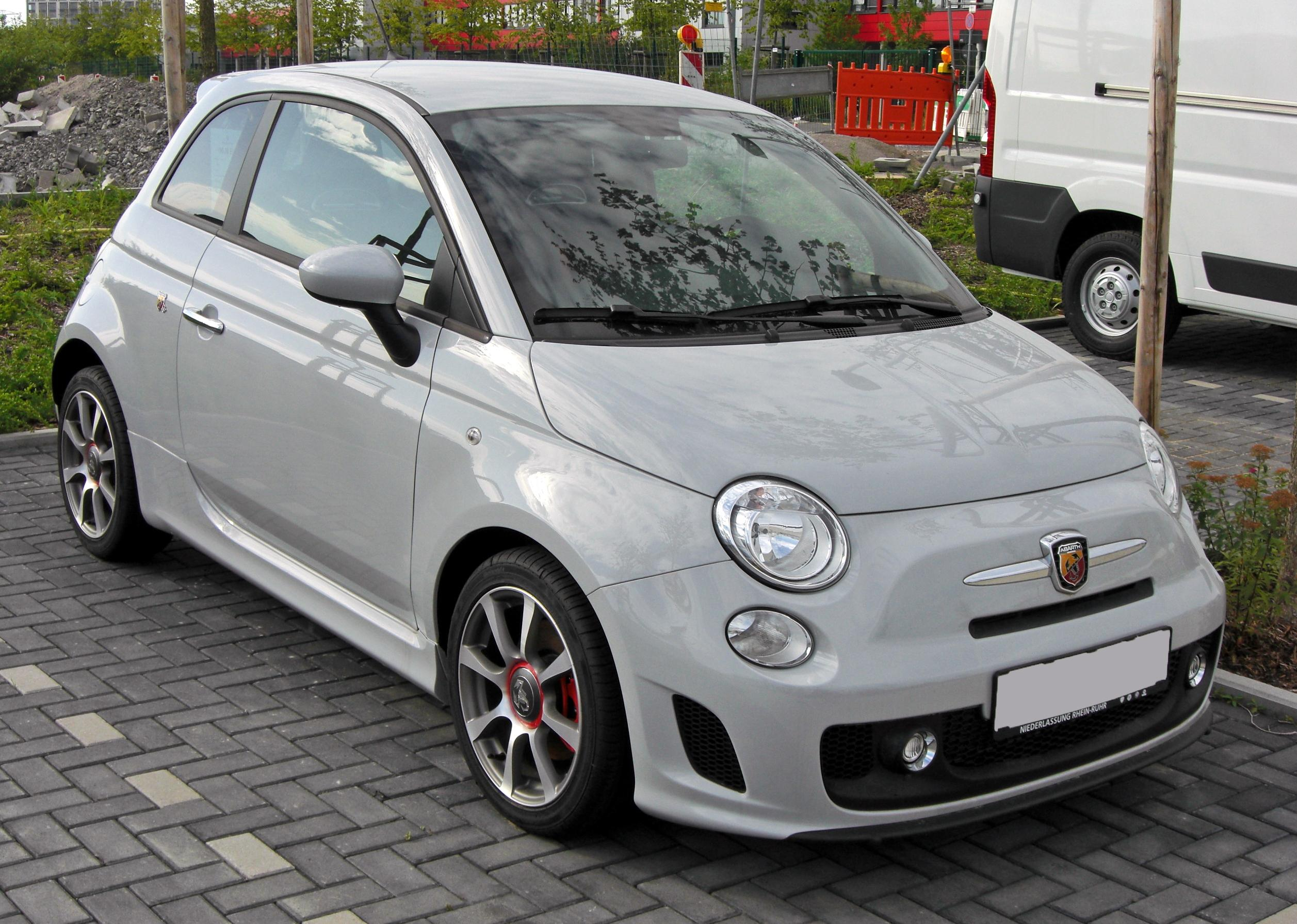 file fiat 500 abarth 20090801 front jpg. Black Bedroom Furniture Sets. Home Design Ideas