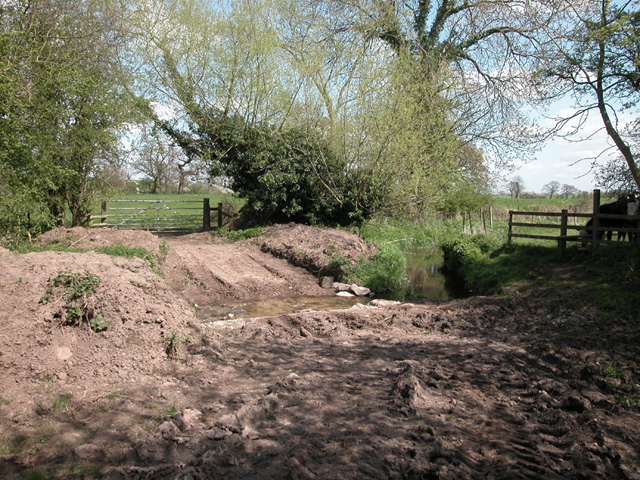 Ford Lane ford - geograph.org.uk - 177176