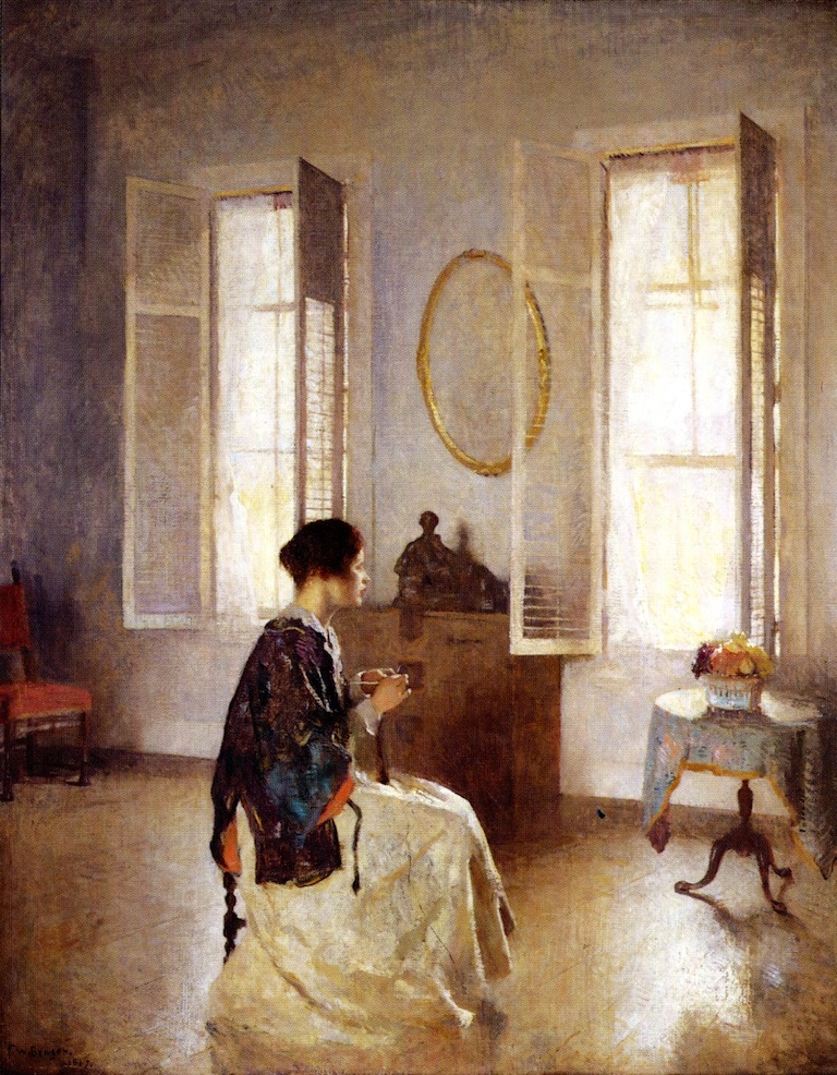 Frank W. Benson, The Open Window, 1917.jpg