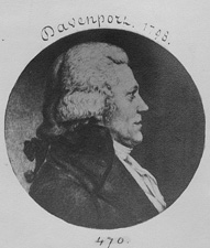 Franklin Davenport American politician