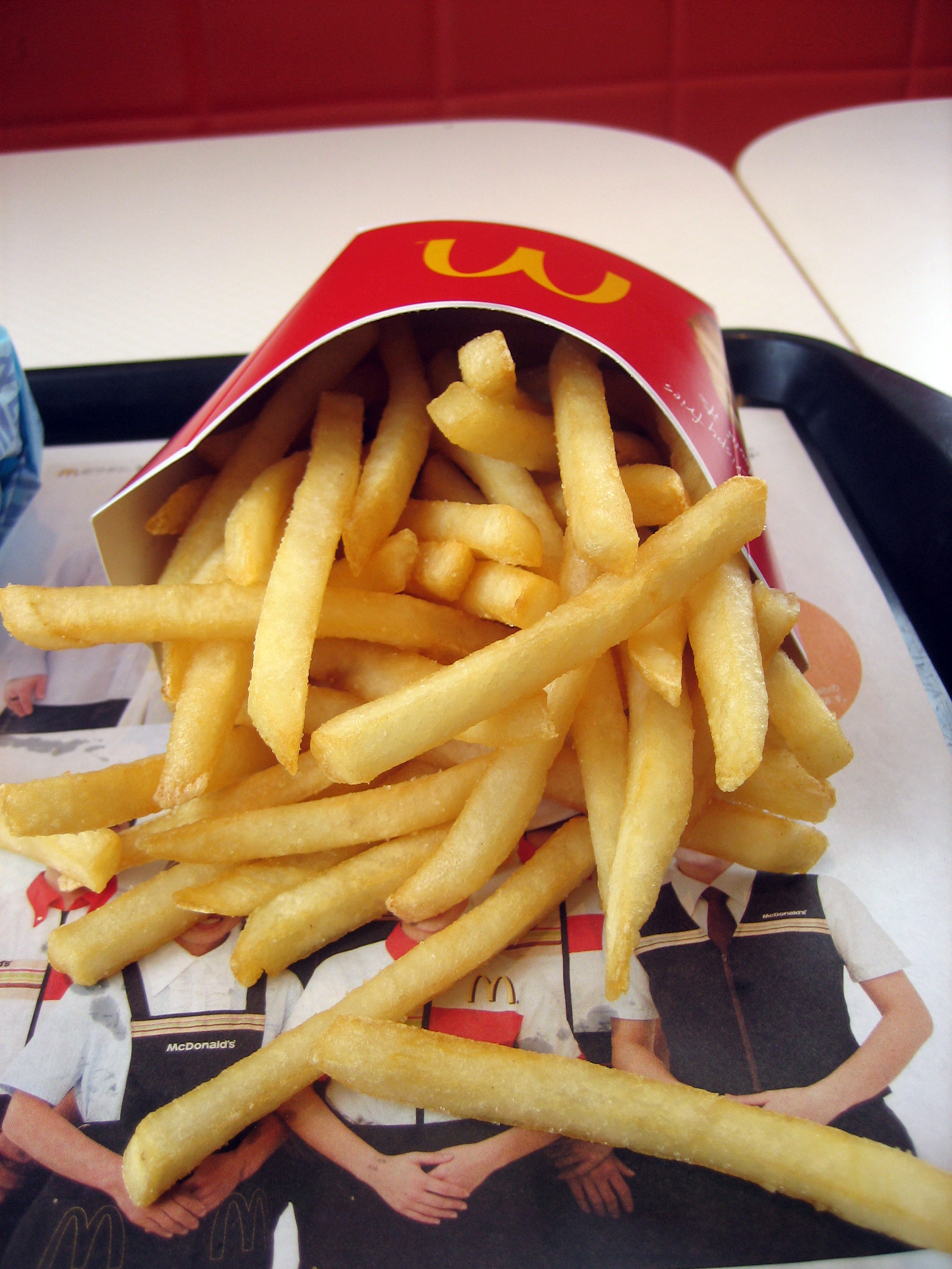 How many french fries does McDonald's sell?