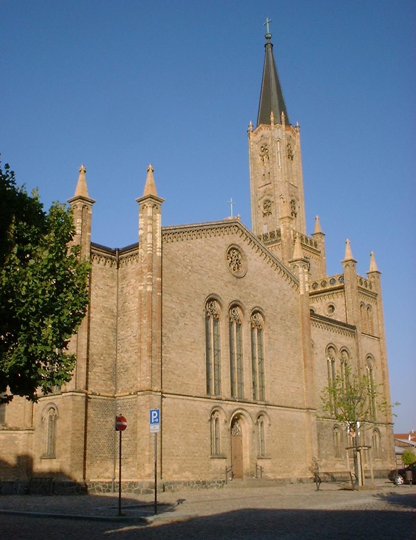 Die Stadtkirche in Fürstenberg