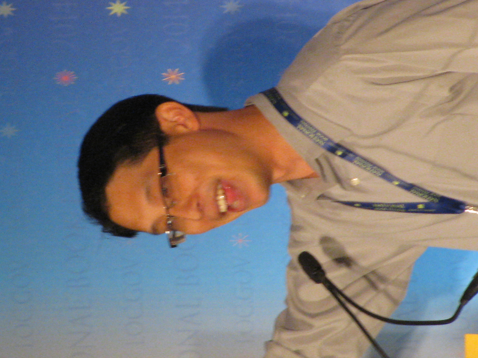 Yang at 2014 National Book Festival