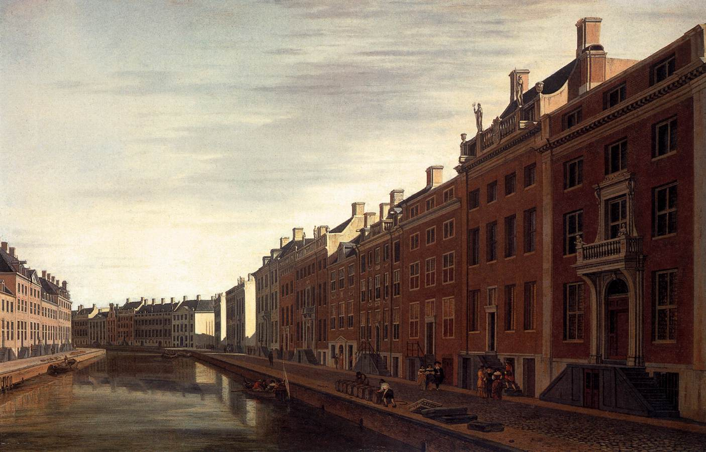File gerrit adriaensz berckheyde the bend in the for Herengracht amsterdam