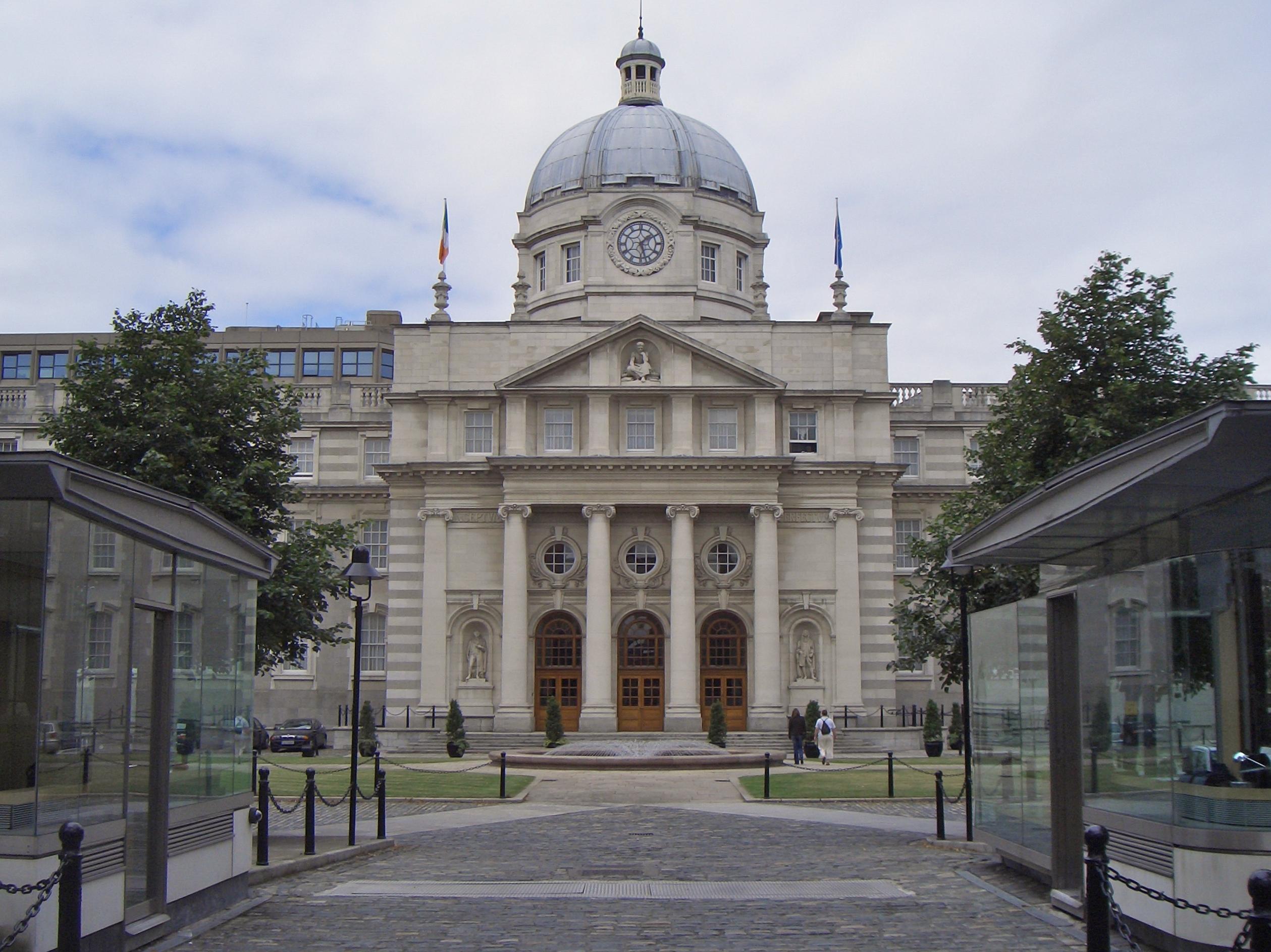 Description government buildings dublin