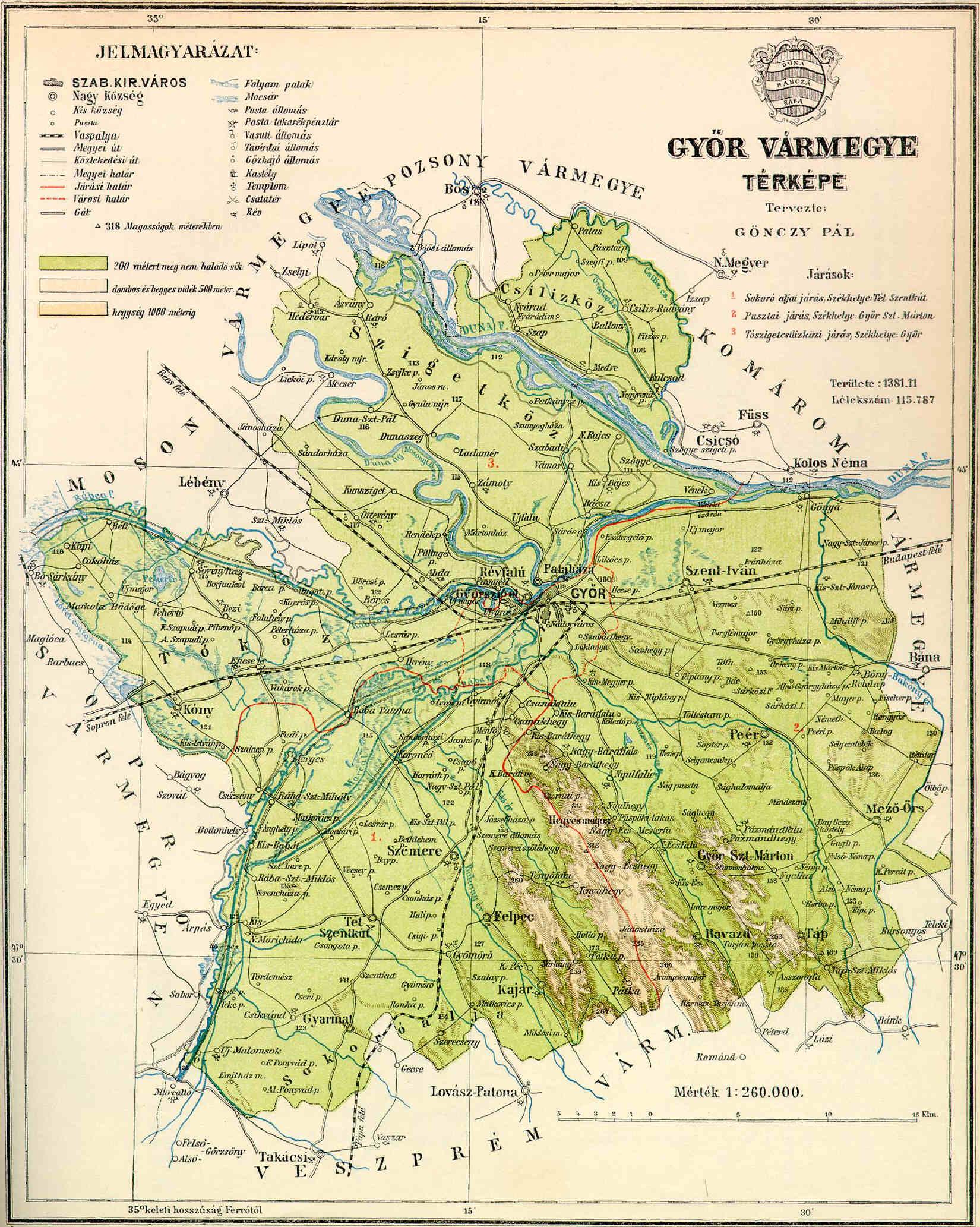 győr domborzati térkép Fájl:Győr county map. – Wikipédia győr domborzati térkép