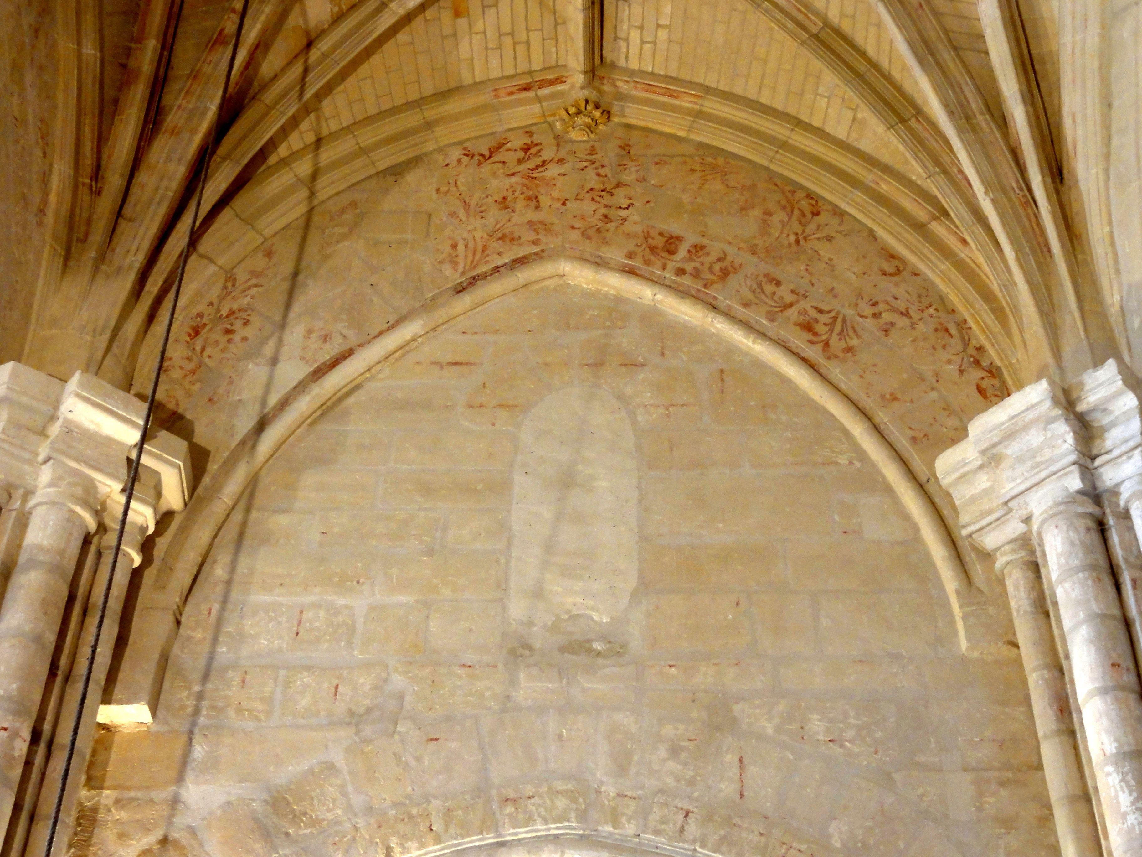 Fichier h rouville 95 glise saint clair crois e for Les differents types de peintures murales