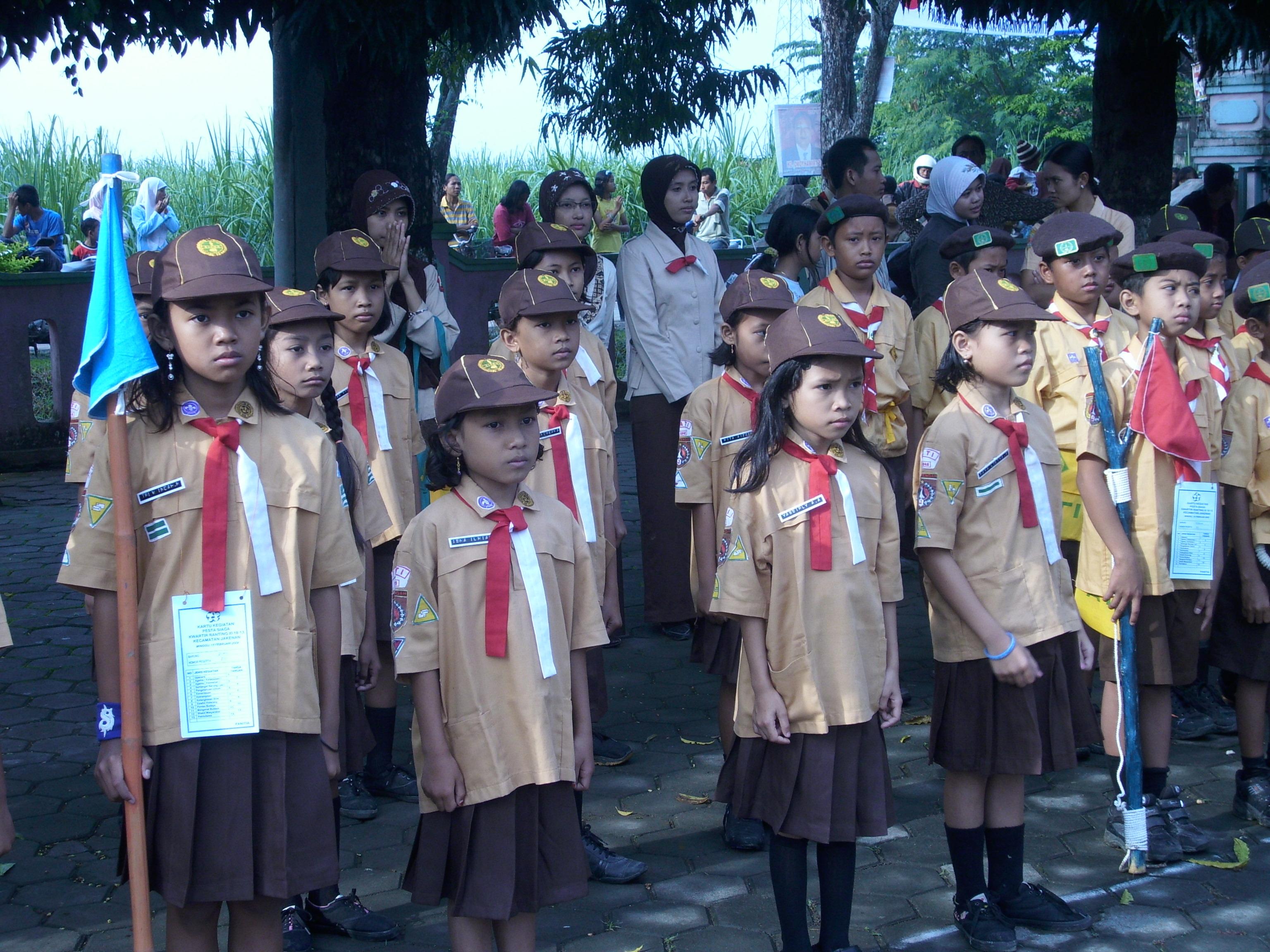Pramuka Siaga Wikipedia Bahasa Indonesia Ensiklopedia Bebas