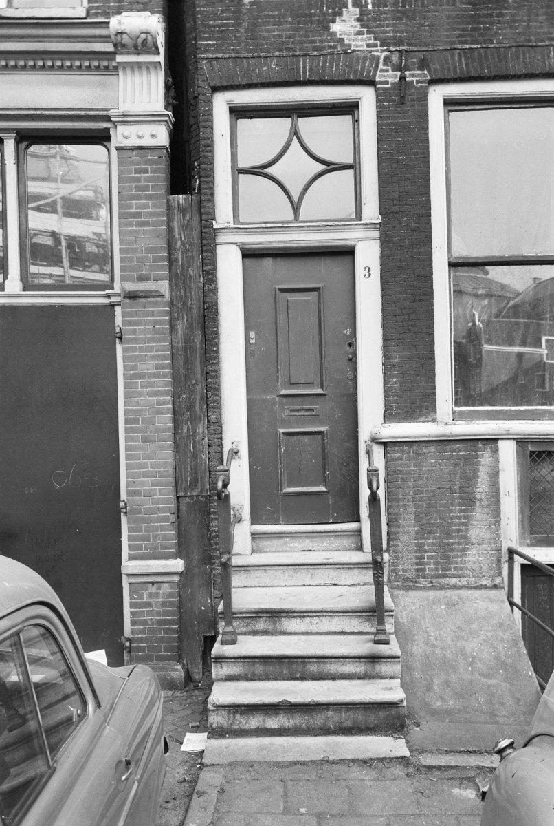 Huis deur en bovenlicht in amsterdam monument - Huis ingang ...