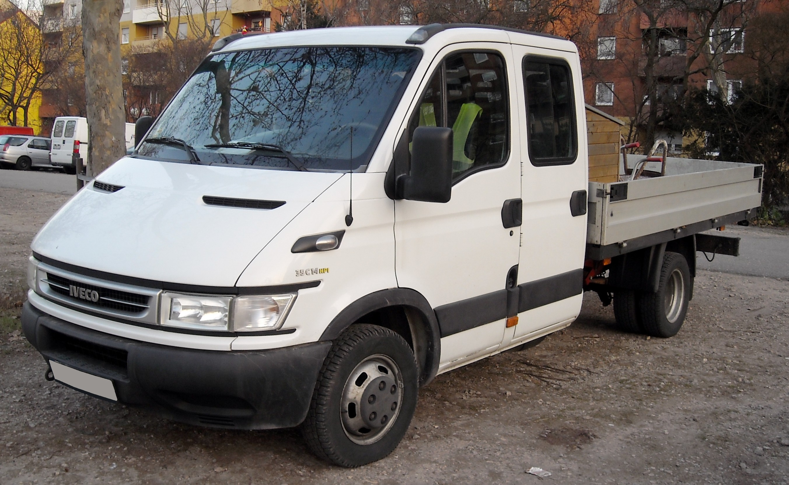 FileIveco Daily III Pritsche front 20081229jpg  Wikipedia