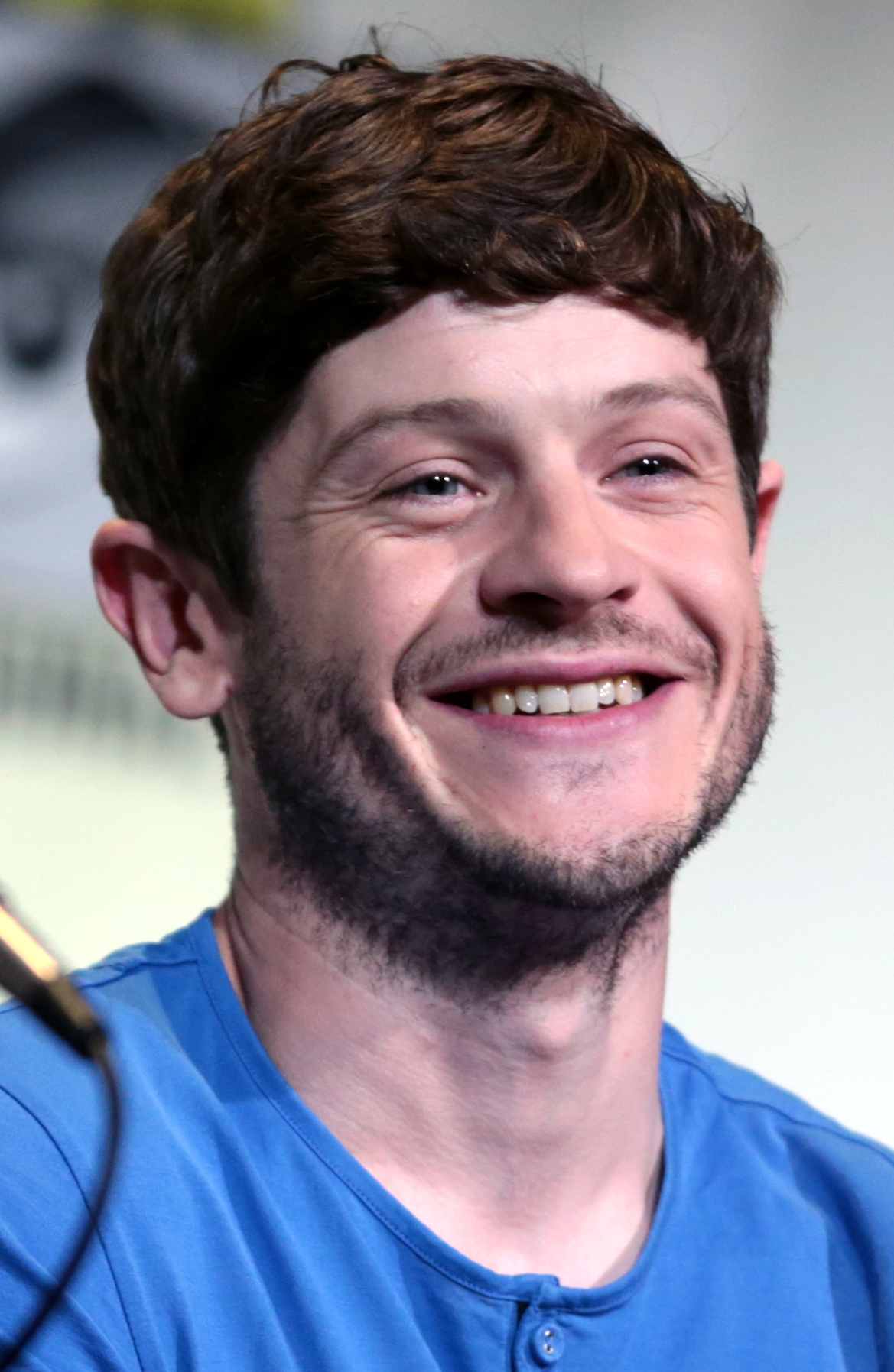 The 33-year old son of father Tomos Rheon and mother Einir Rheon Iwan Rheon in 2018 photo. Iwan Rheon earned a  million dollar salary - leaving the net worth at 3 million in 2018