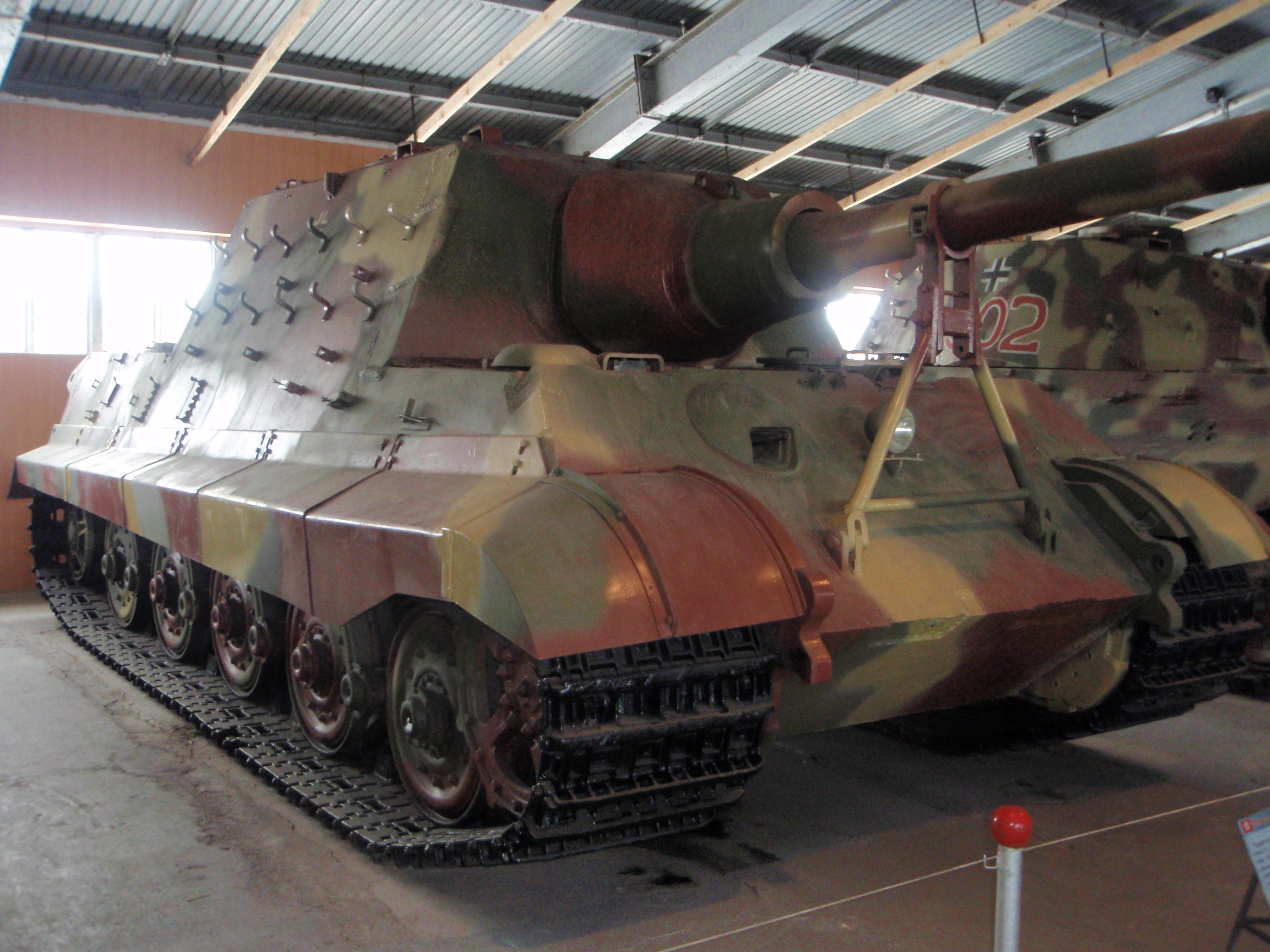 File:Jagdtiger in the Kubinka.jpg - Wikimedia Commons