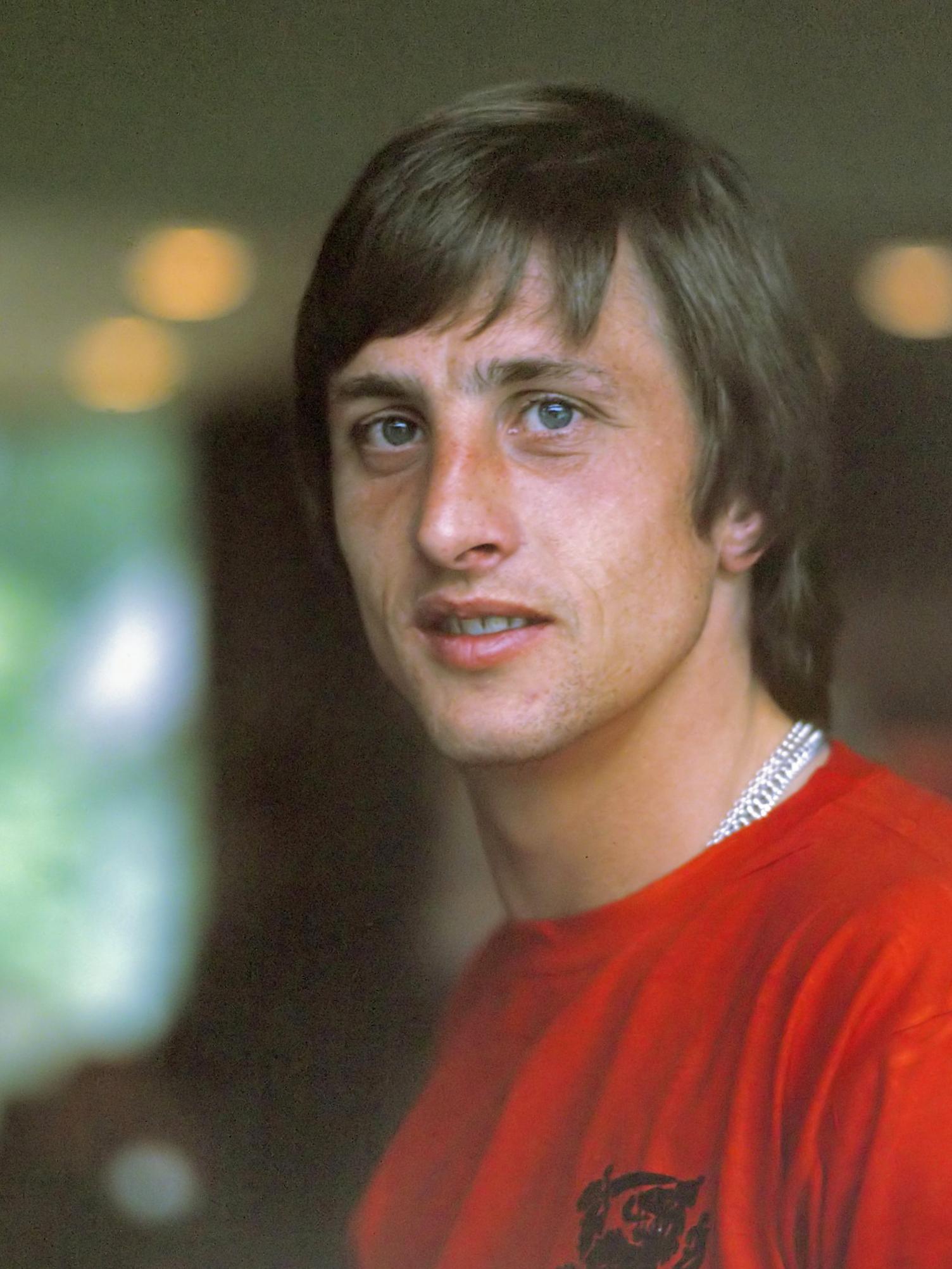 Photo Johan Cruyff via Opendata BNF