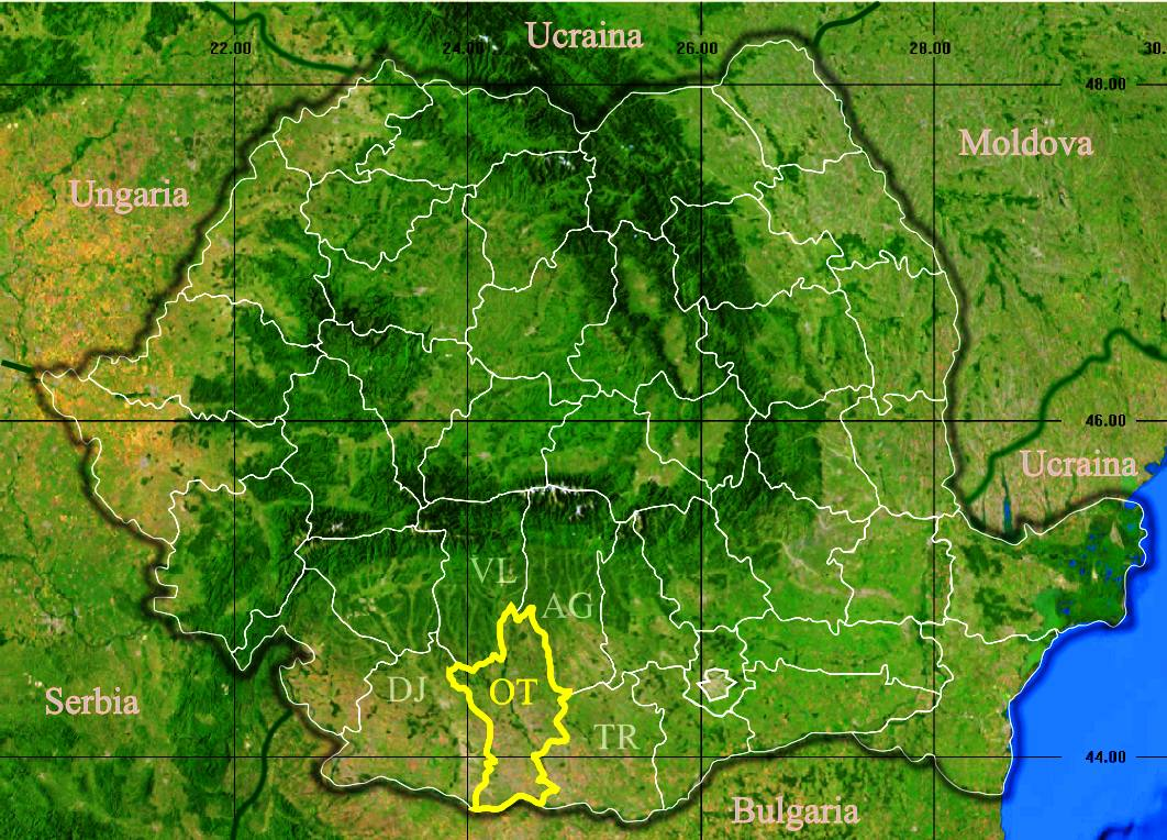 File Judetul Olt 3d Map Jpg Wikimedia Commons