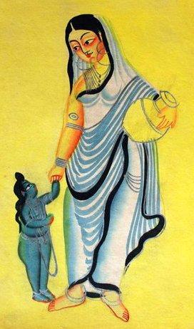 File:Kalighat Sita & Lava.jpg