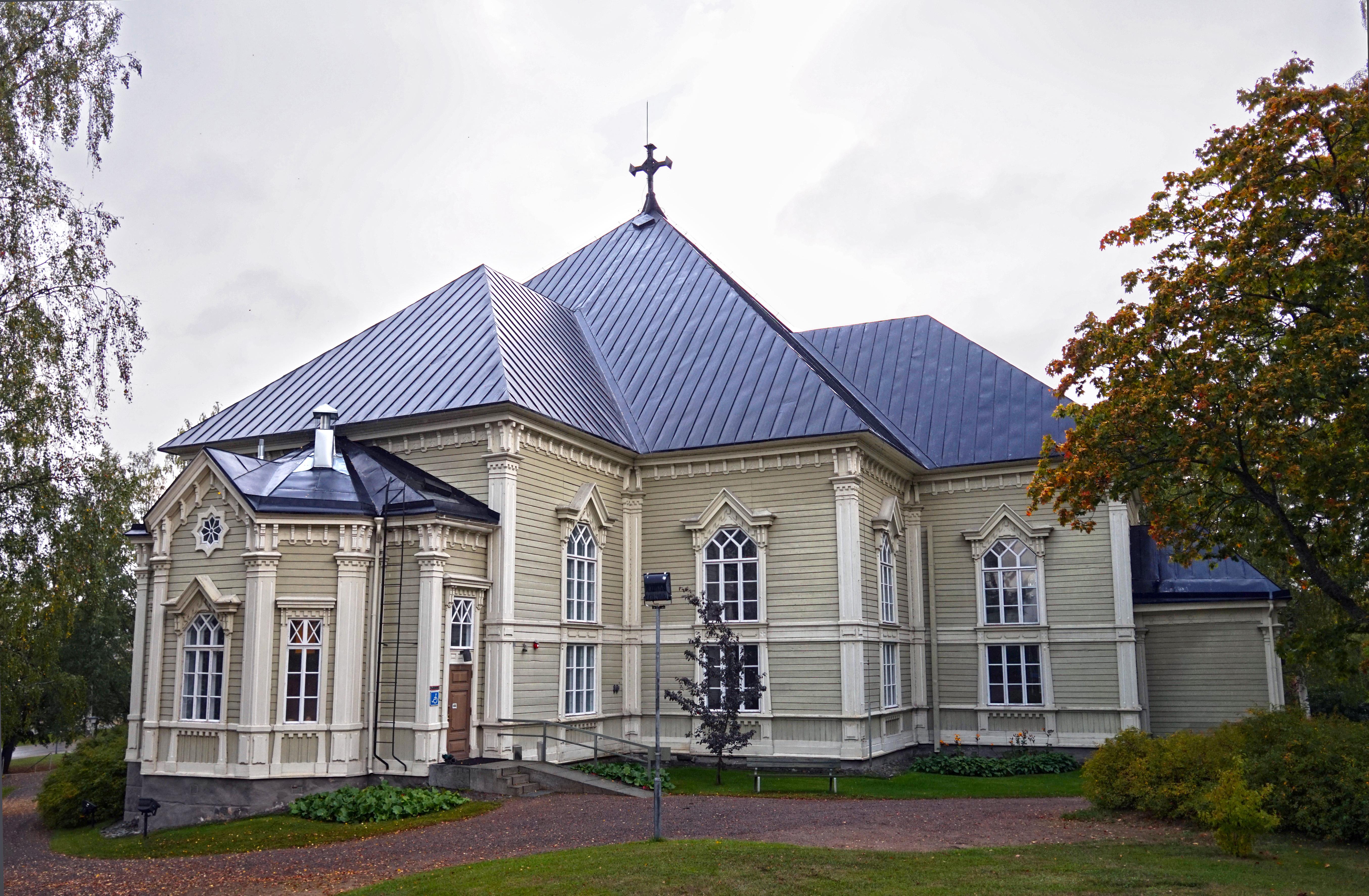 Tiedosto Kangasniemi Church Jpg Wikipedia