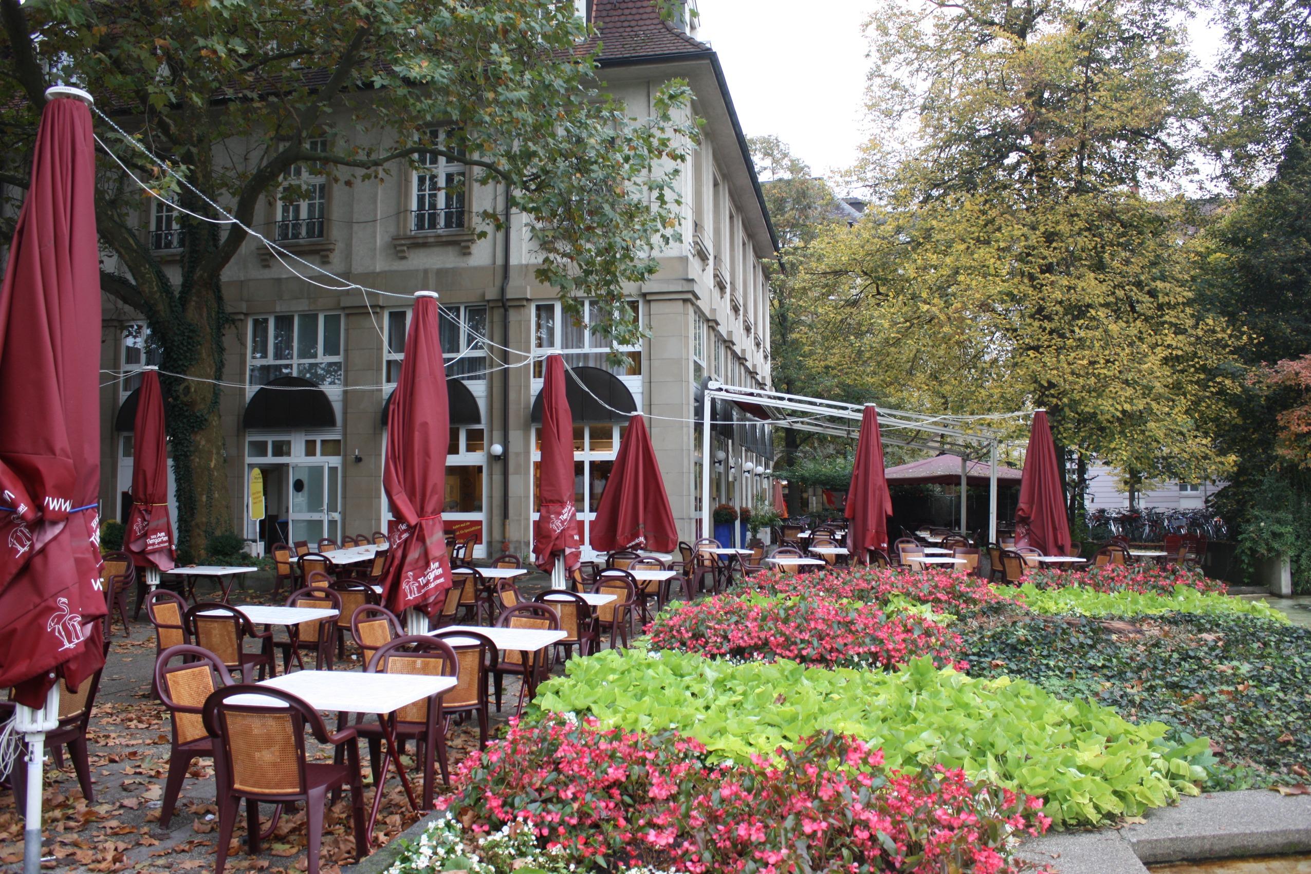 Filekarlsruhe Am Tiergarten Hotel Cafe Restaurant Bild 1jpg