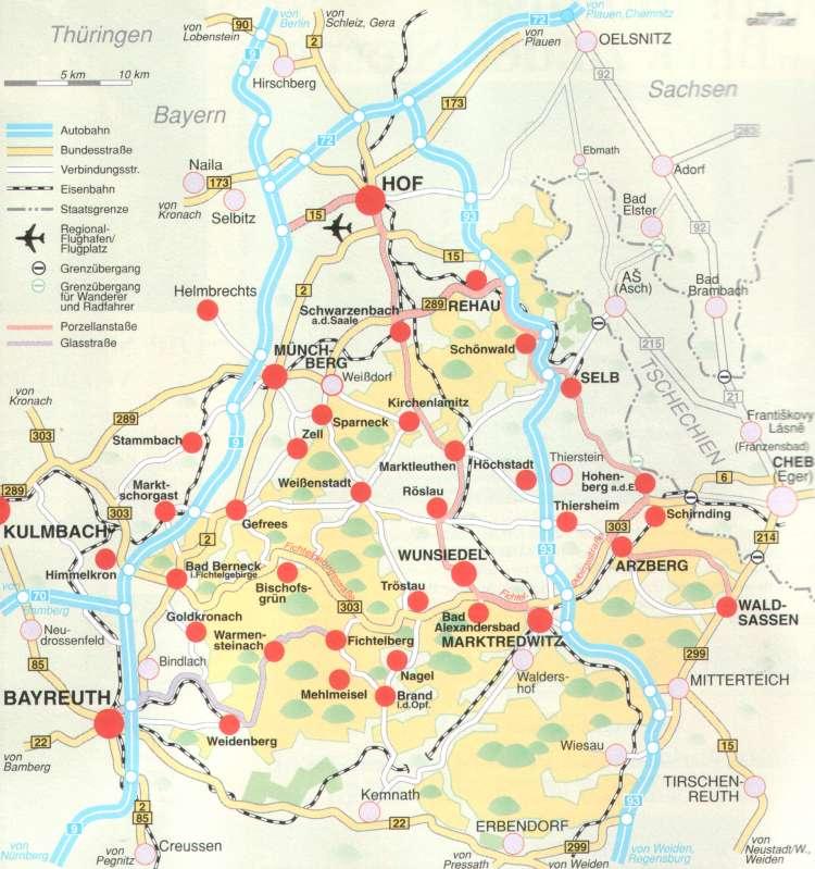 fichtelgebirge karte Datei:Karte Fichtelgebirge.png – Wikipedia