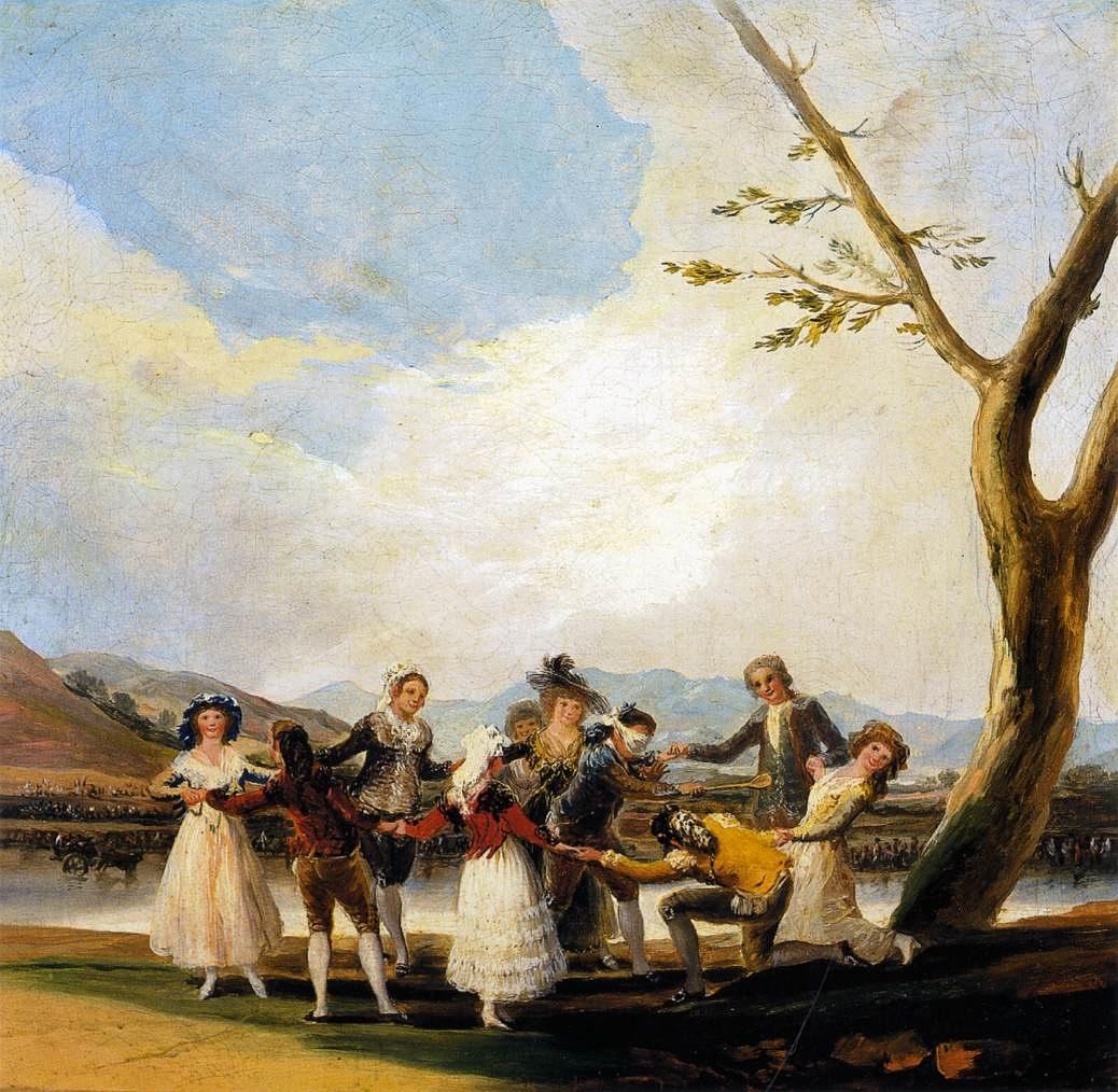 Boceto de Goya