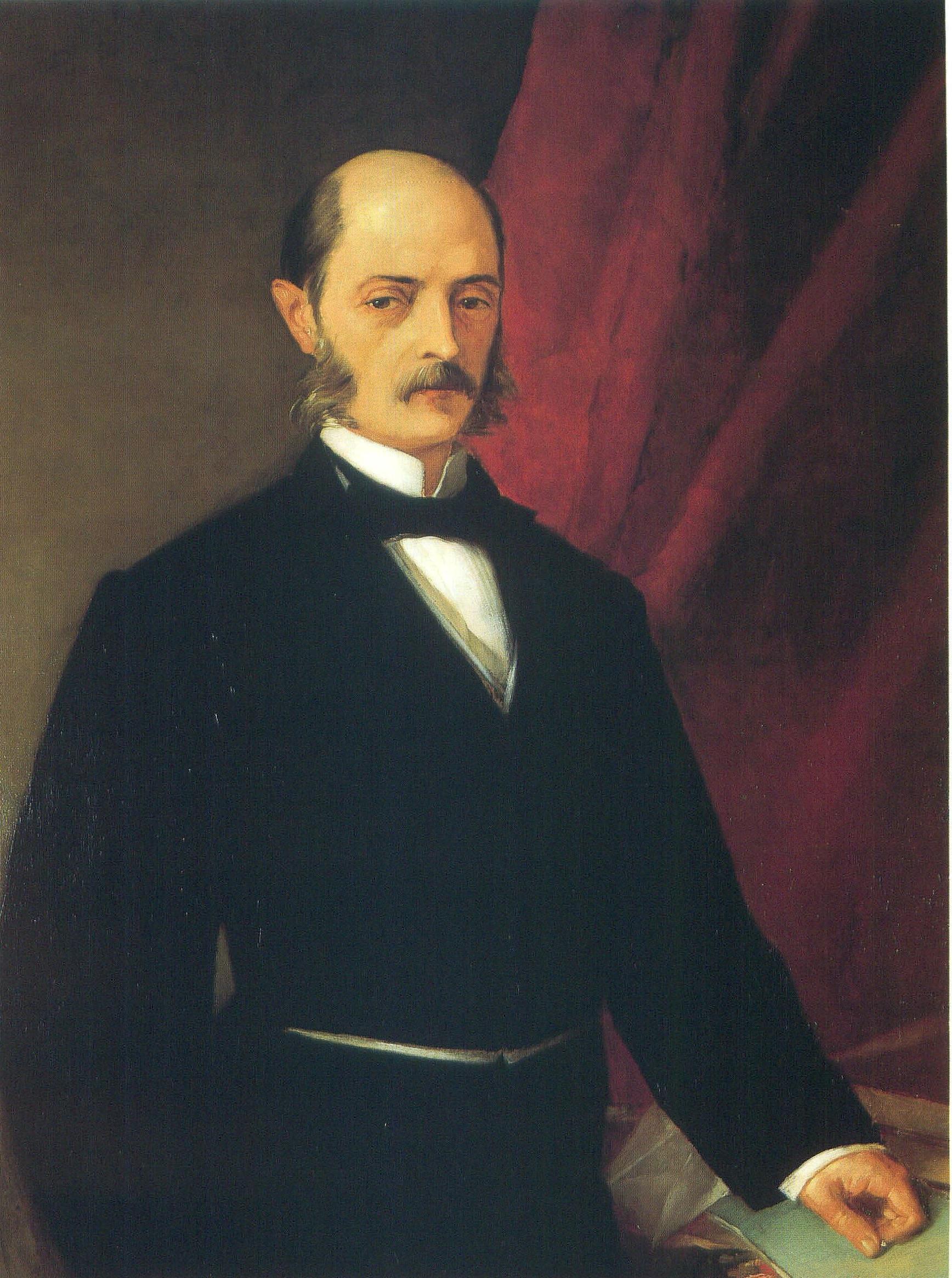 Depiction of Laureano Figuerola