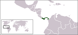 LocationPanama