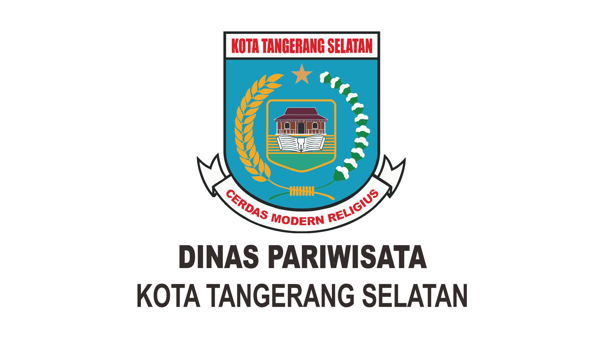 File Logo Dinas Pariwisata Kota Tangerang Selatan Jpg Wikimedia Commons