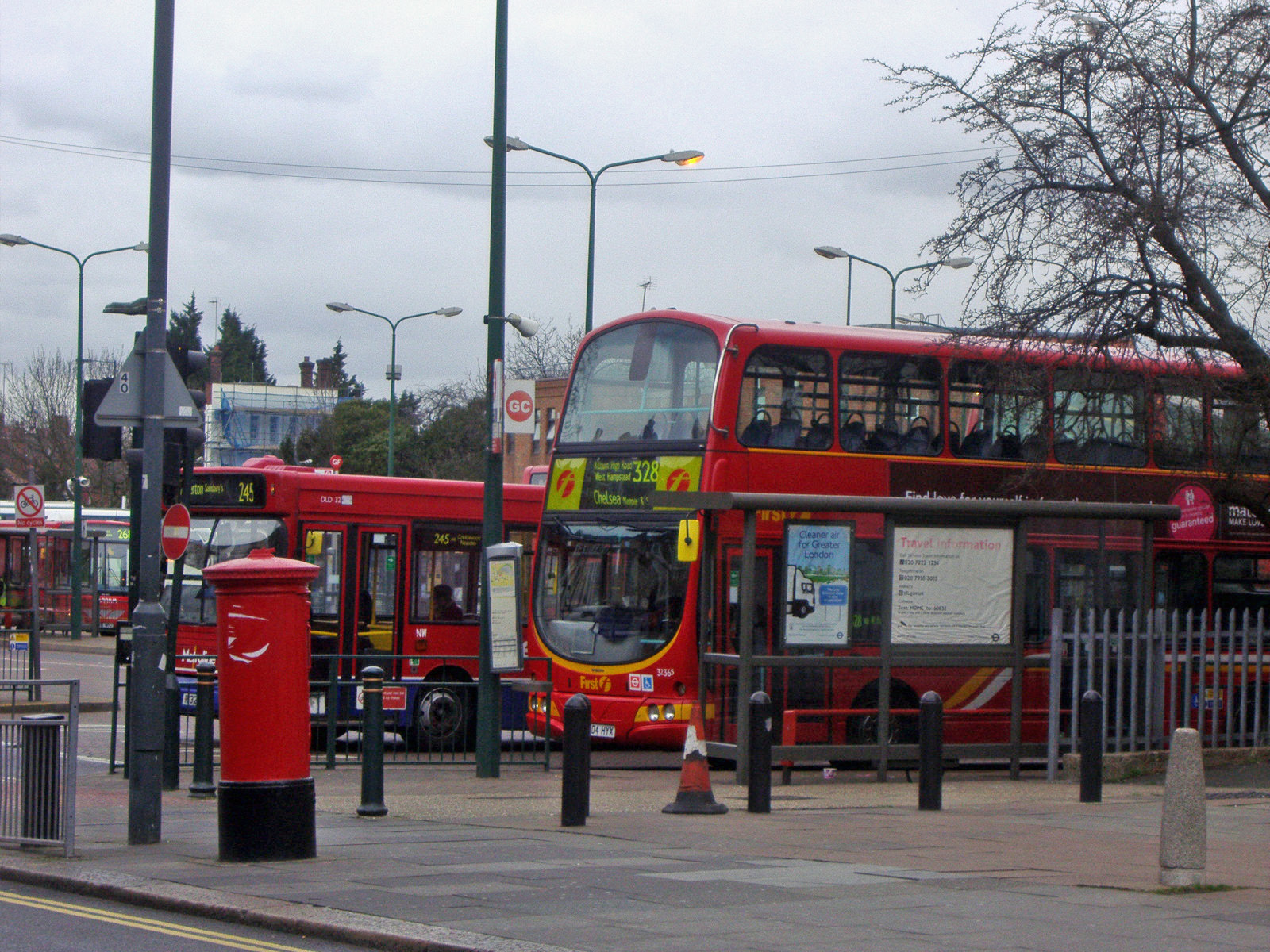 file:london buses route 328 and 245 golders green - wikimedia