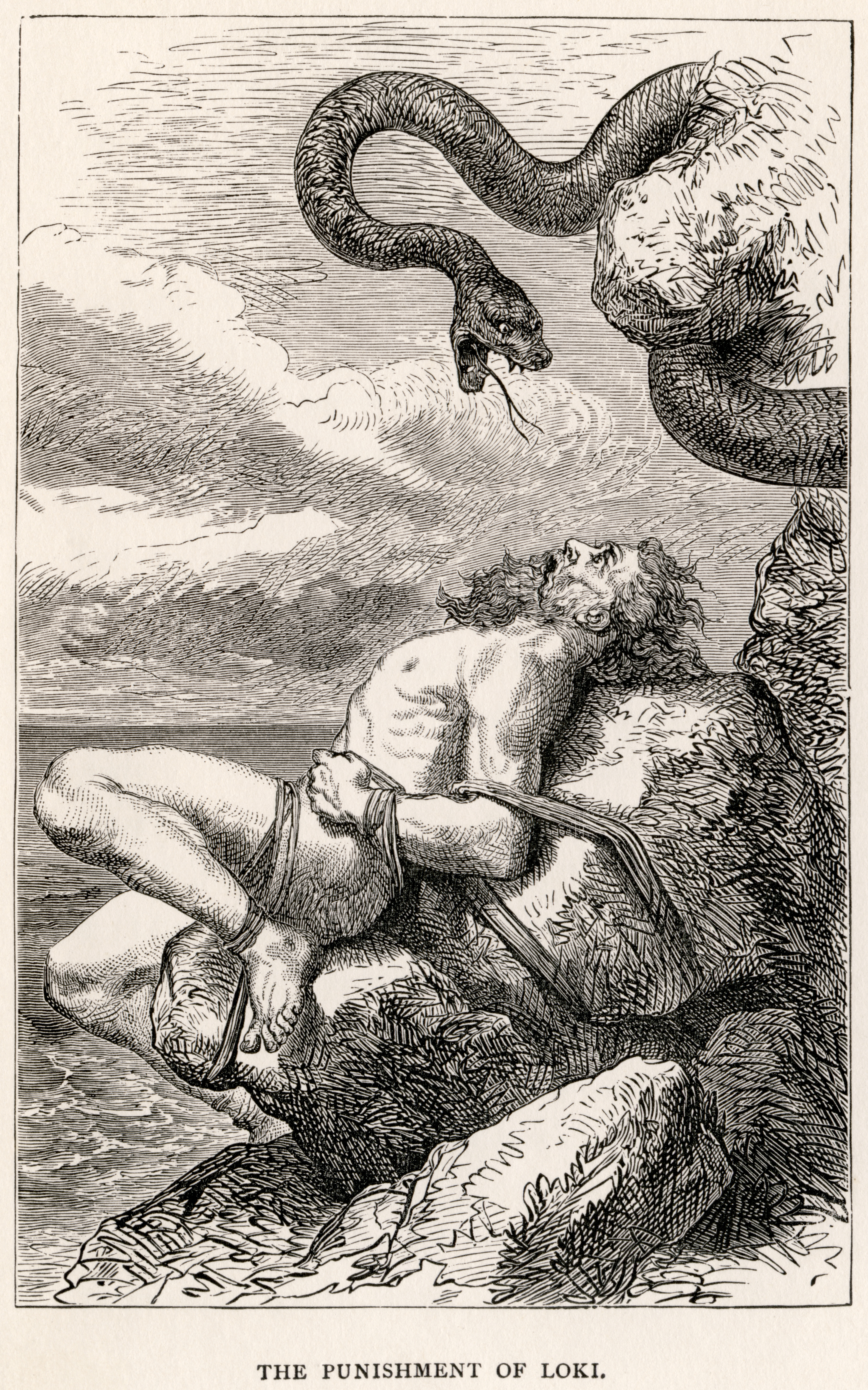 God Loki in Norse mythology 7