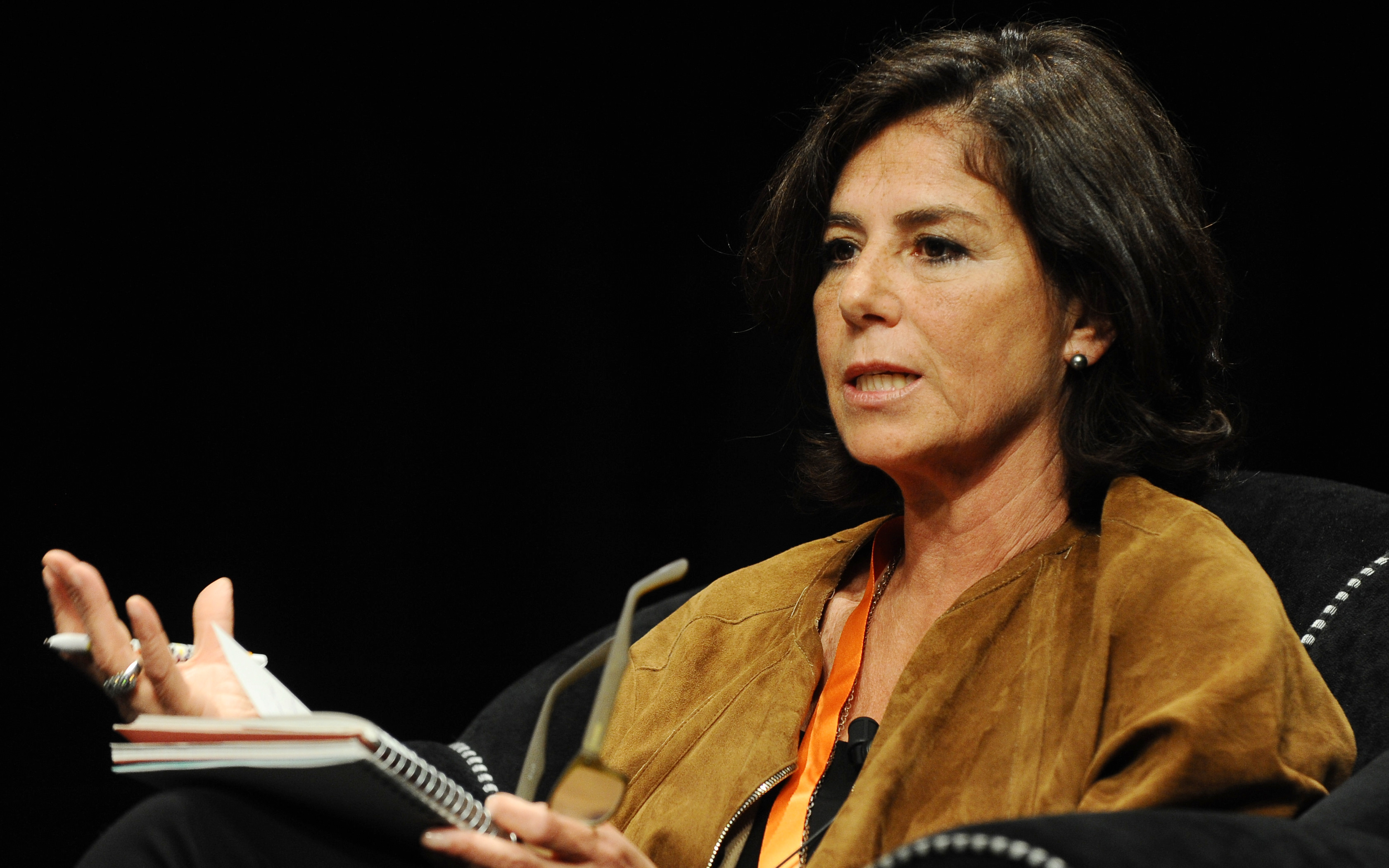 Lucrezia Reichlin at the Festival of Economics in [[Trento]] in 2013.