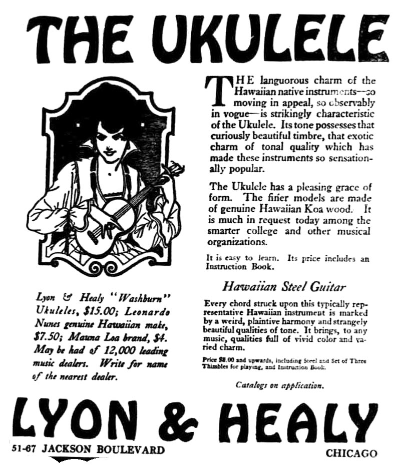 Filelyon Healy Newspaper Ad Ukulele Steel Guitarsg