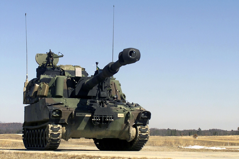 В Литве начались учения с участием самых современных танков США - Цензор.НЕТ 469