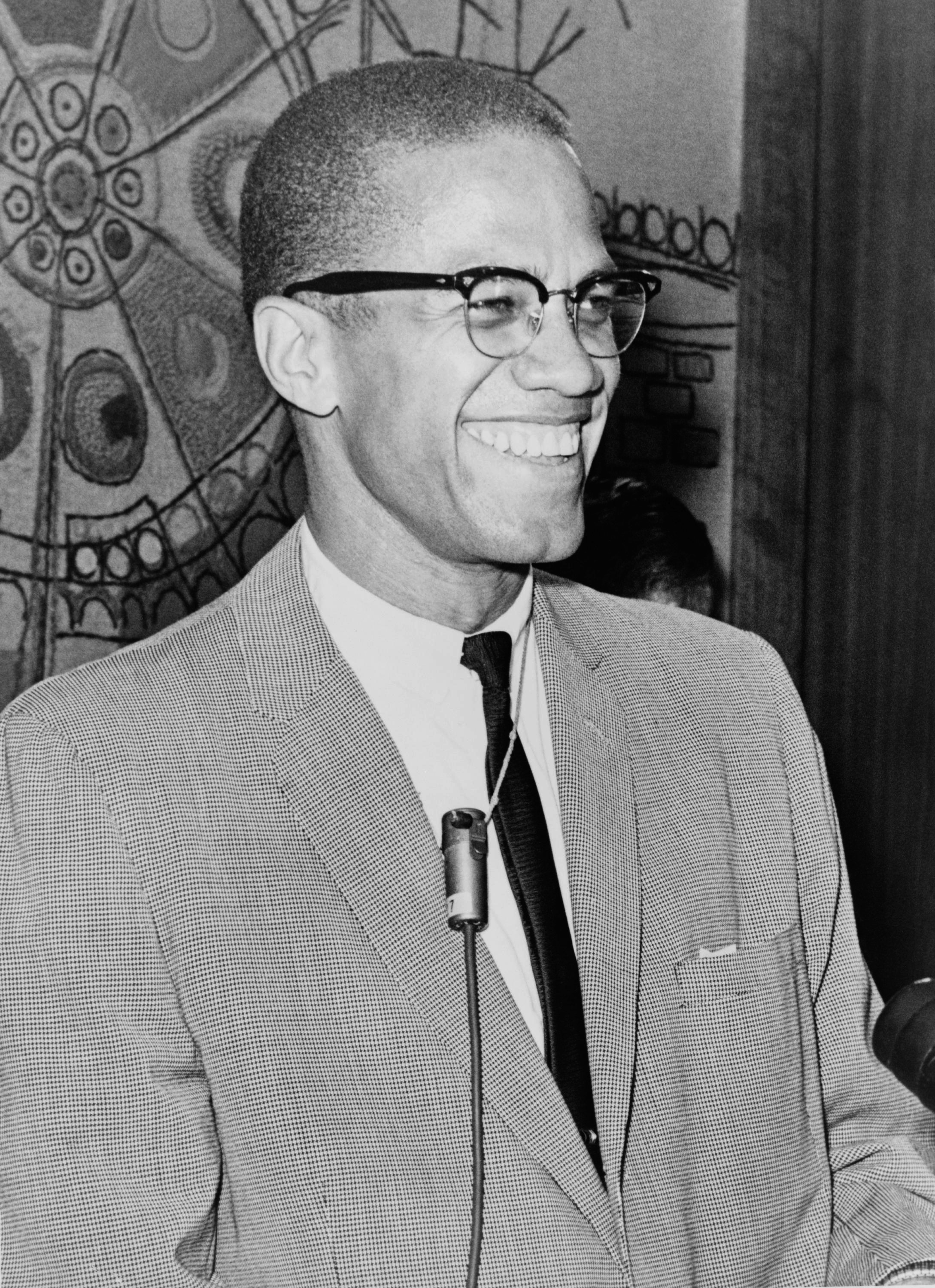 Portrait of Malcolm X