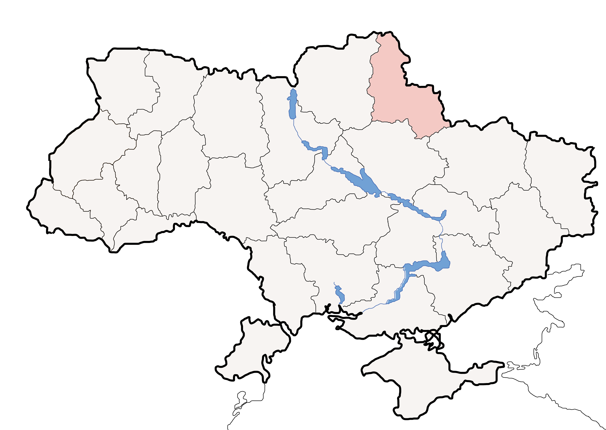 FileMap of Ukraine political simple Oblast Sumypng Wikimedia Commons