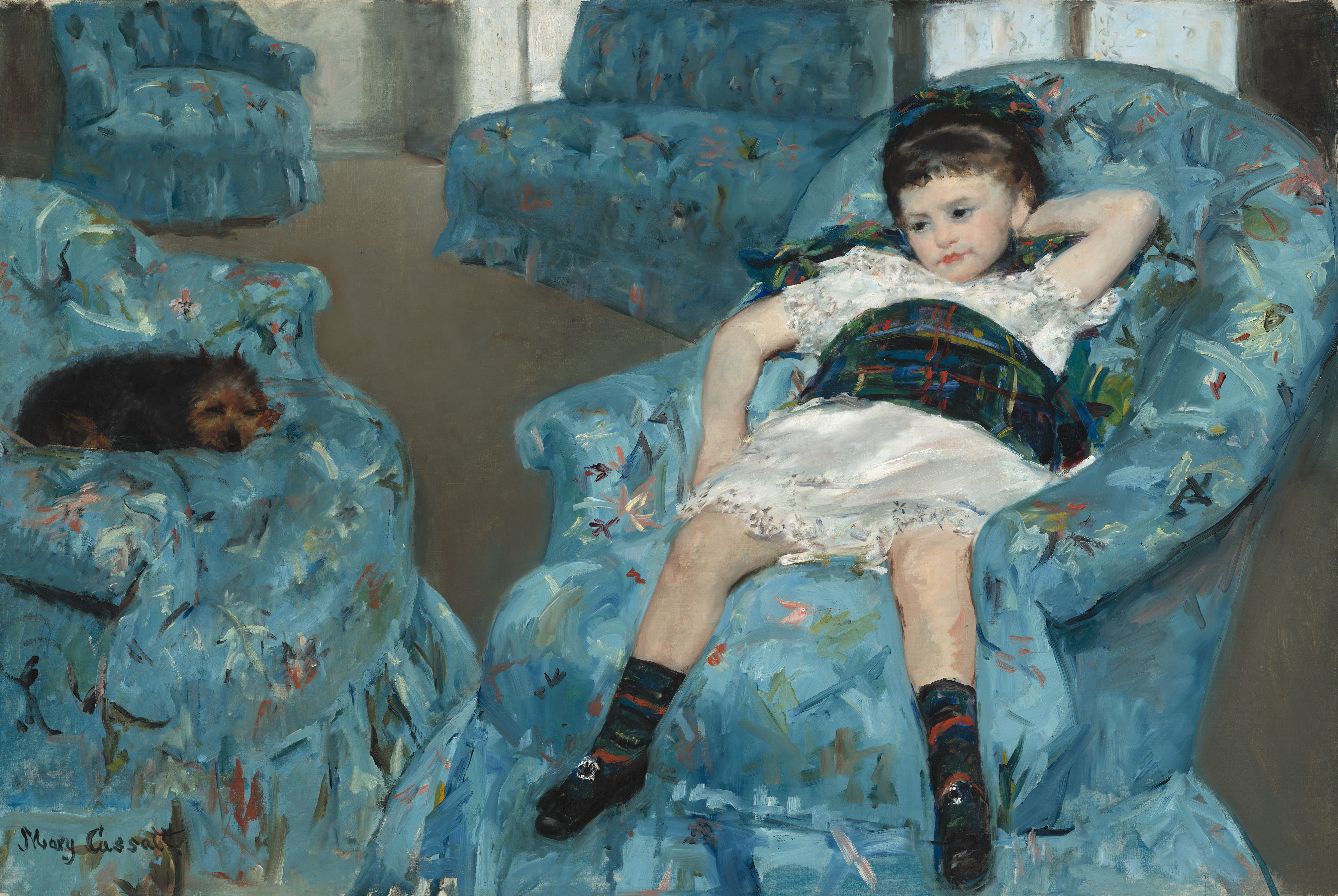Good File:Mary Cassatt   Little Girl In A Blue Armchair   NGA 1983.1.18