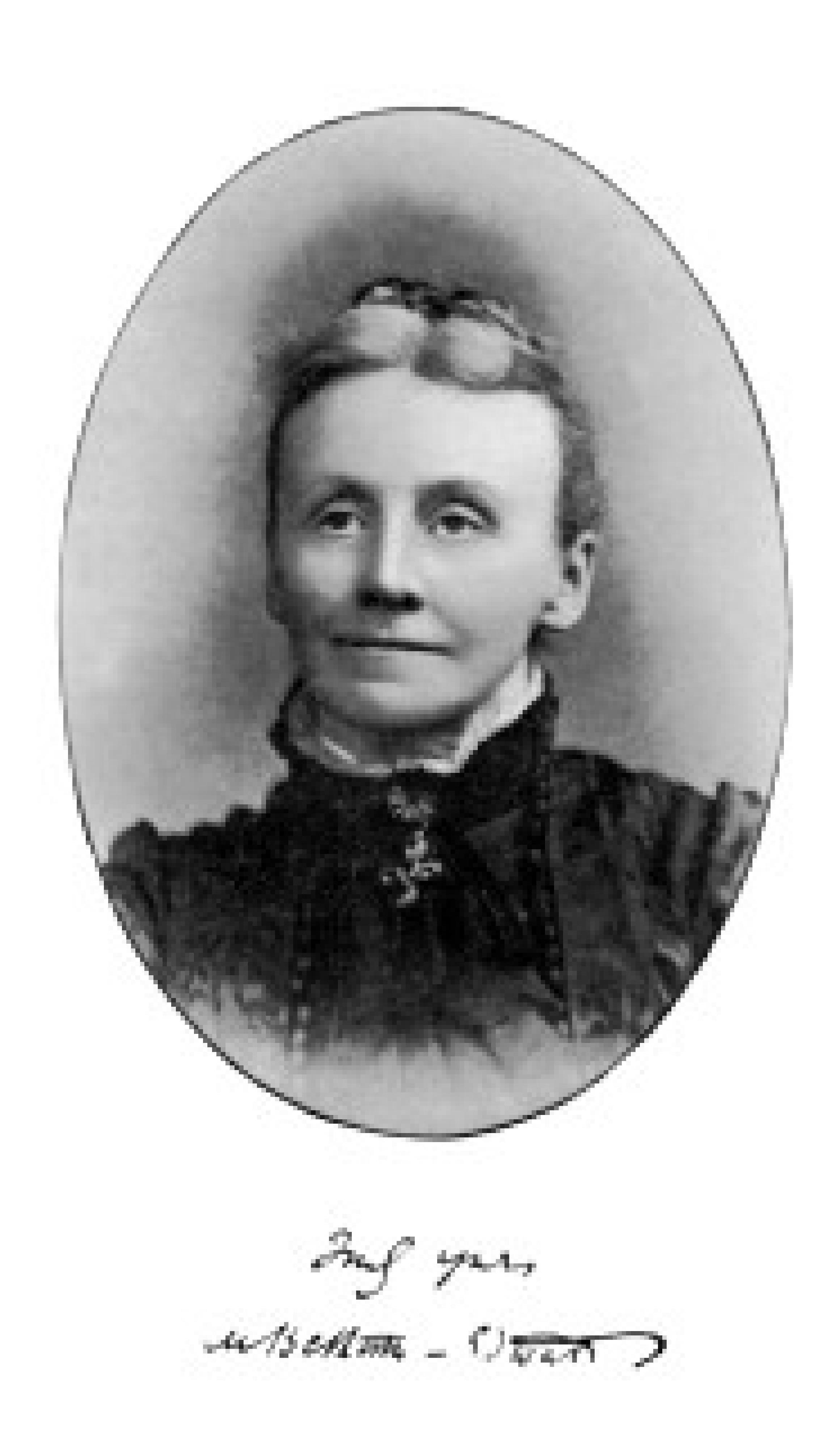 Matilda Betham-Edwards ca. 1893