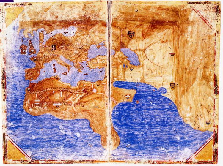 Medici-Laurentian Atlas 1351