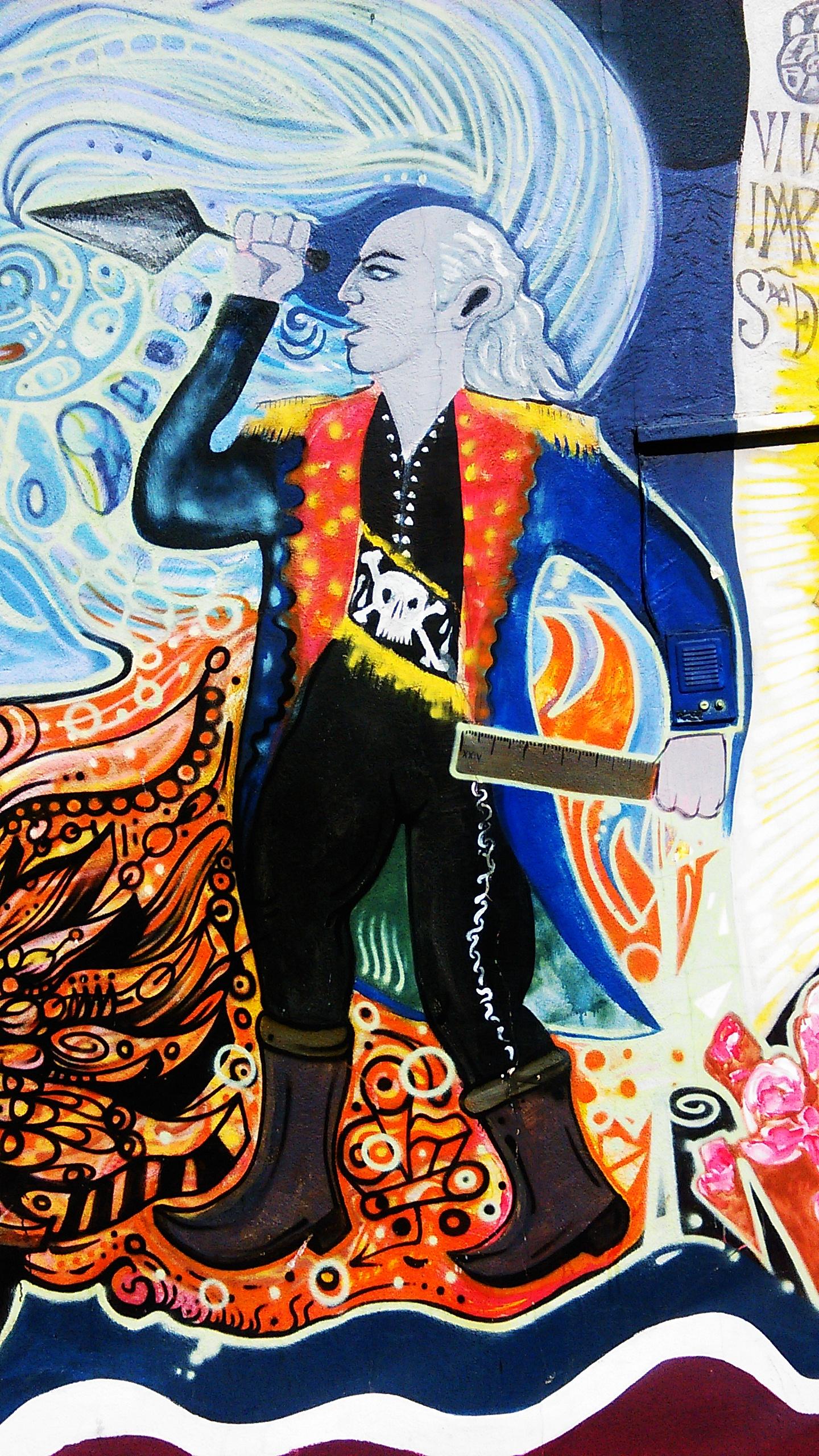 filemiguel hidalgo con banda de maestro masn mural de alejandro escalante rubn durn ernesto corona arturo mrquez zenn gmez y allan valdez