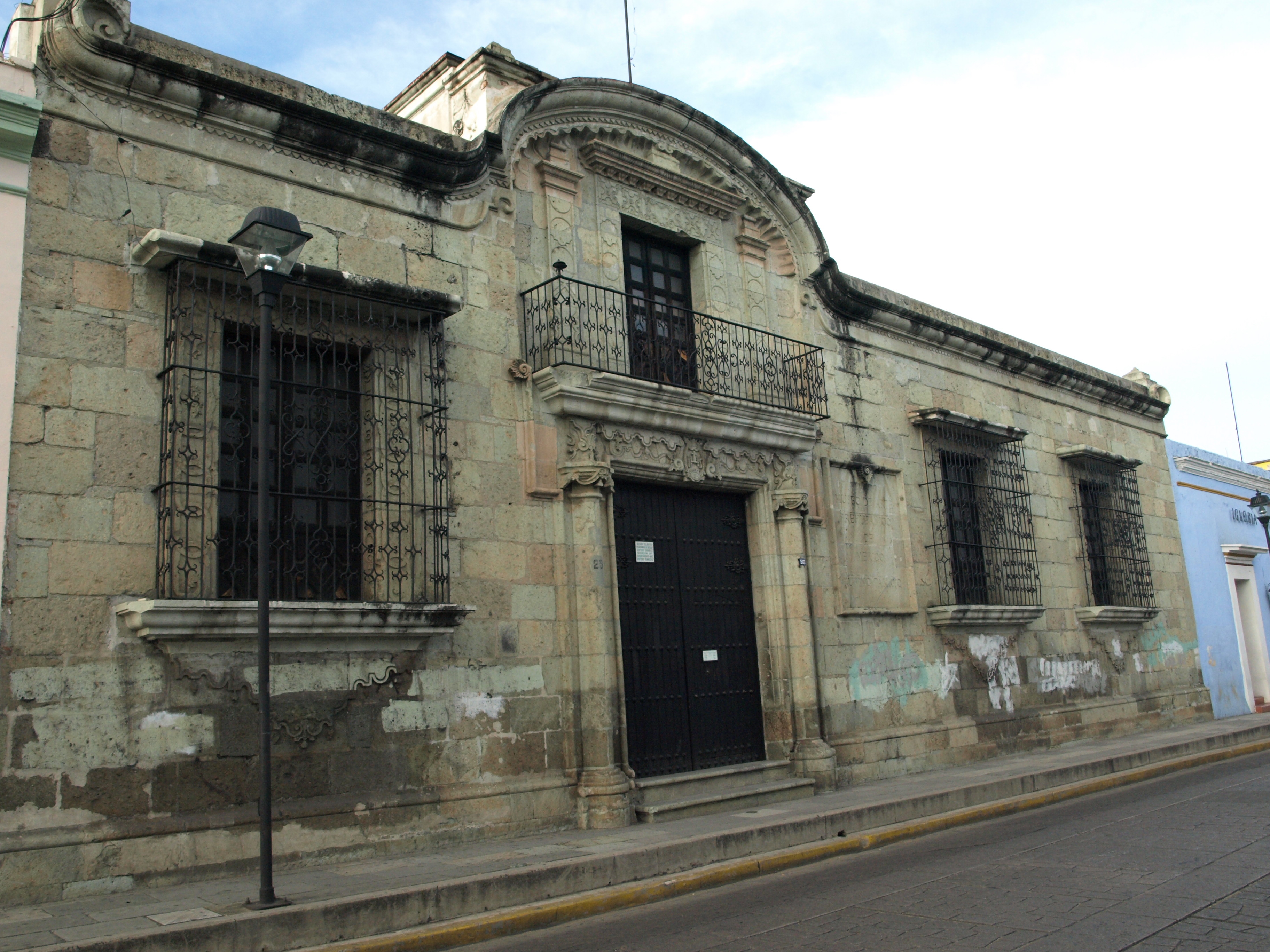 Fachada del museo Rufino Tamayo en Oaxaca