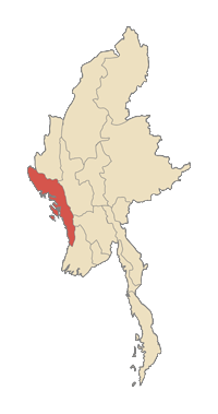 Location of Estado de Rakhinepahkuing pranynai