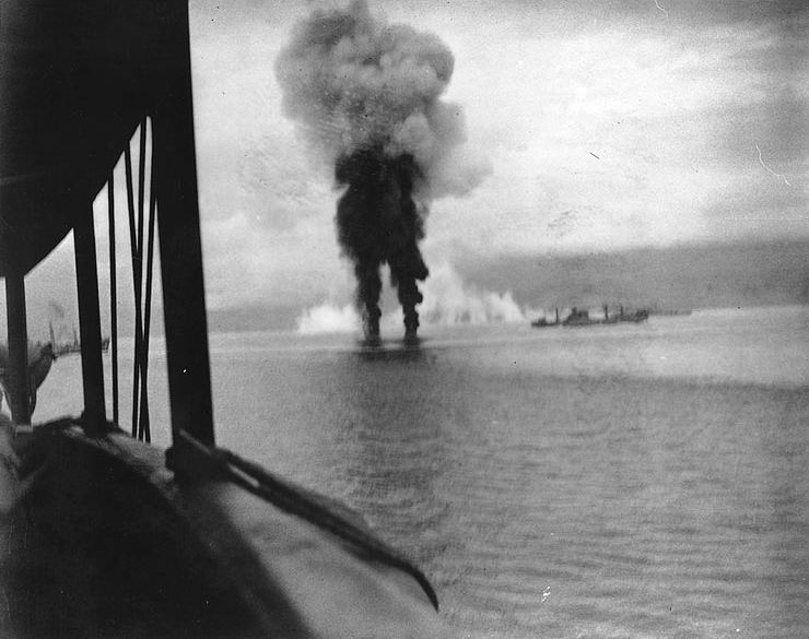 a report on the battle of guadalcanal in the pacific theater of the world war two Sequence of events of world war ii in the pacific 1942 - the first us amphibious landing of the pacific war occurs battle of santa cruz off guadalcanal.
